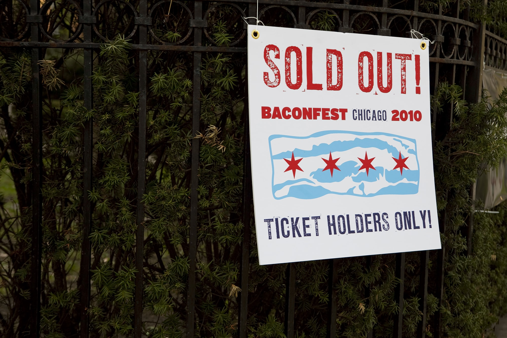 Sold out Baconfest Chicago - a bacon festival