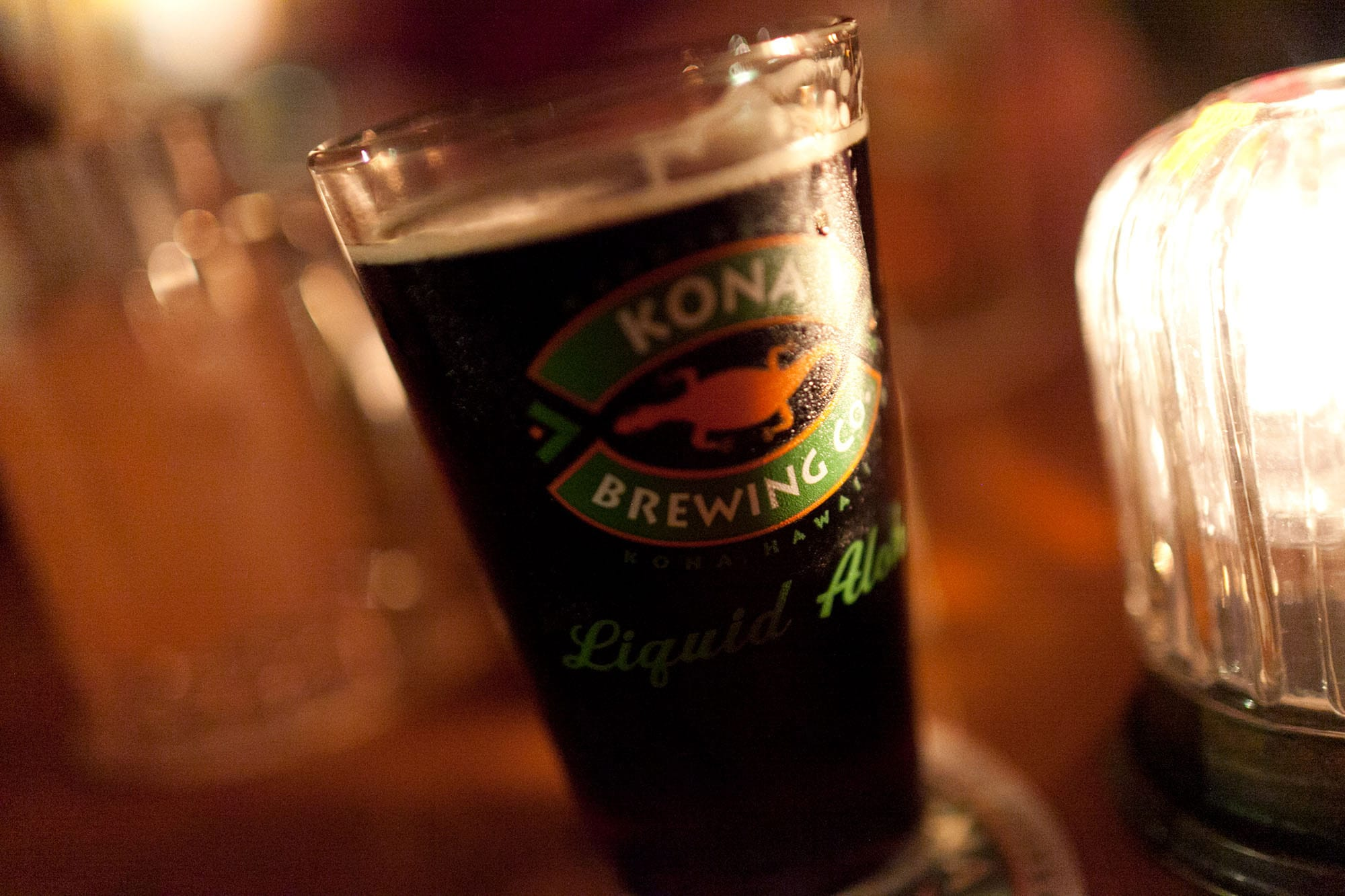 Beer at Kona Brewing Co. on the Big Island in Hawaii
