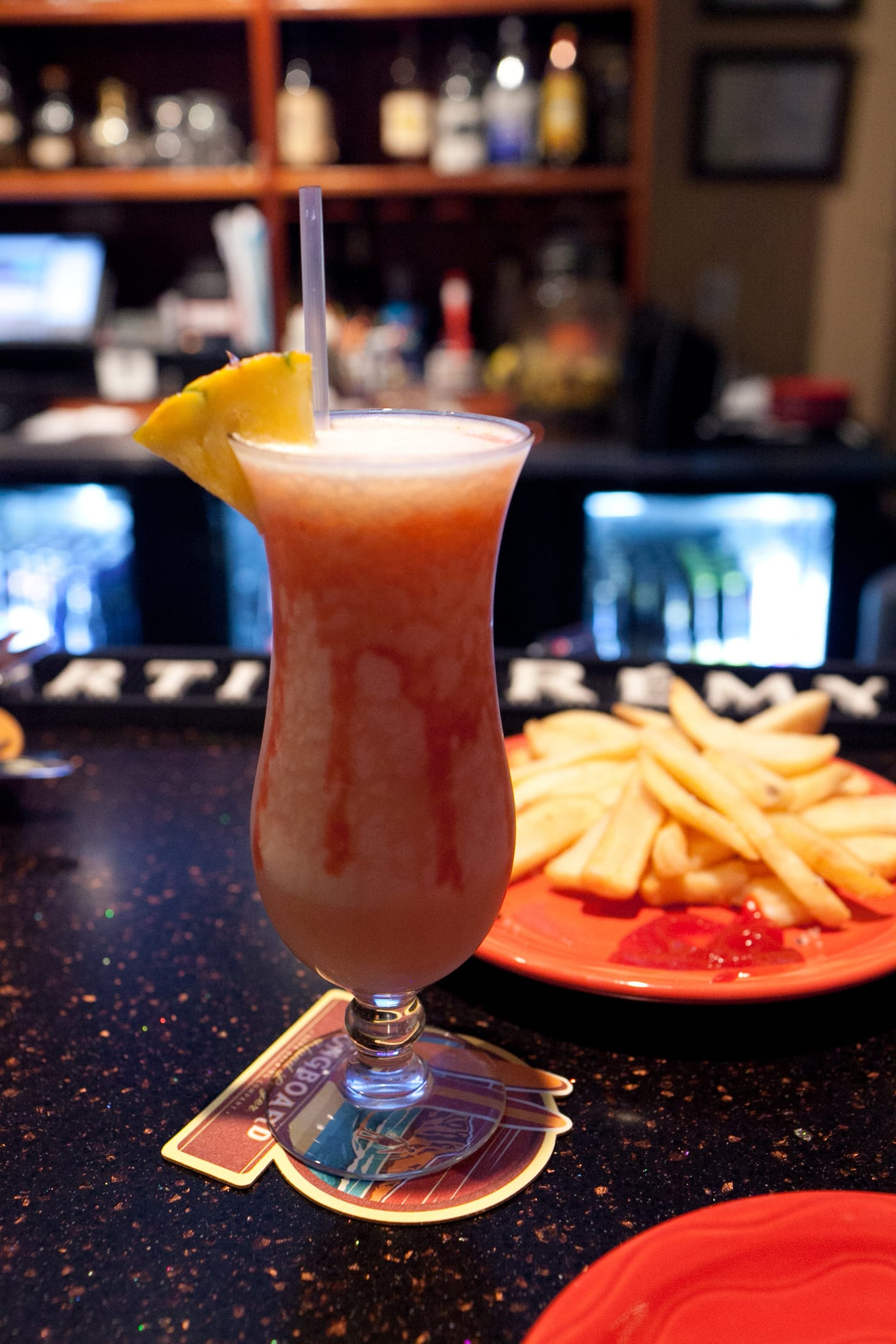 Lava Flow at Pineapples in Hilo on the Big Island in Hawaii.