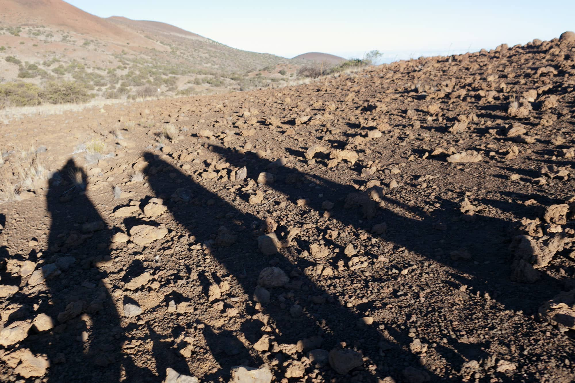 Mauna Kea on the Big Island in Hawaii.