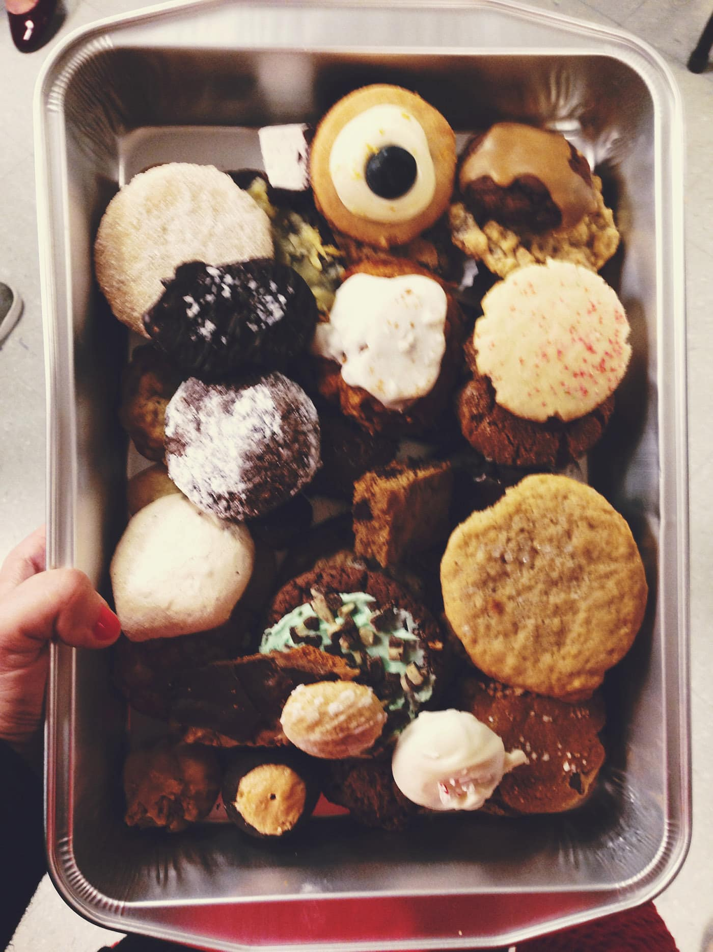 Work Cookie Exchange.