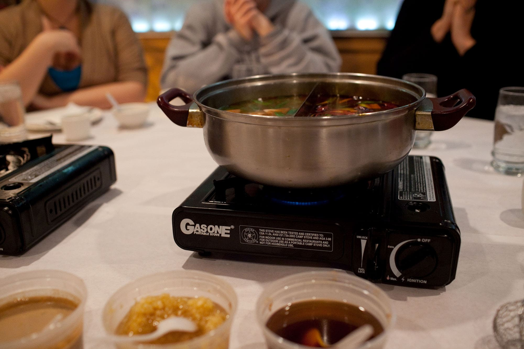 Lao Sze Chuan Hot Pot for Chinese New Year in Chicago Chinatown.