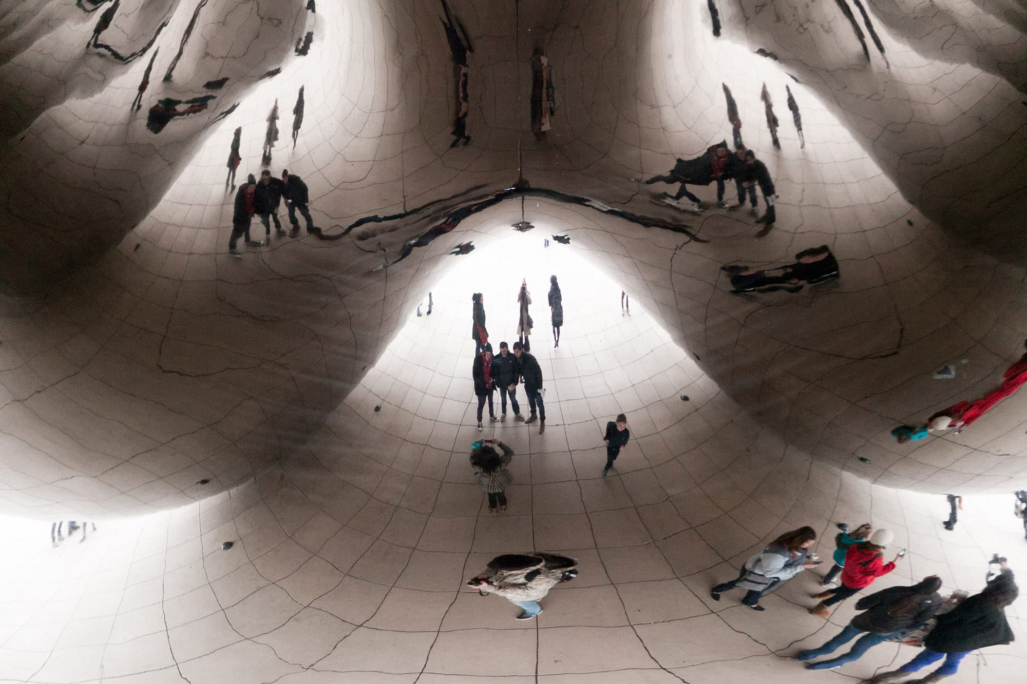 Cloud Gate - The Bean - in Chicago, Illinois