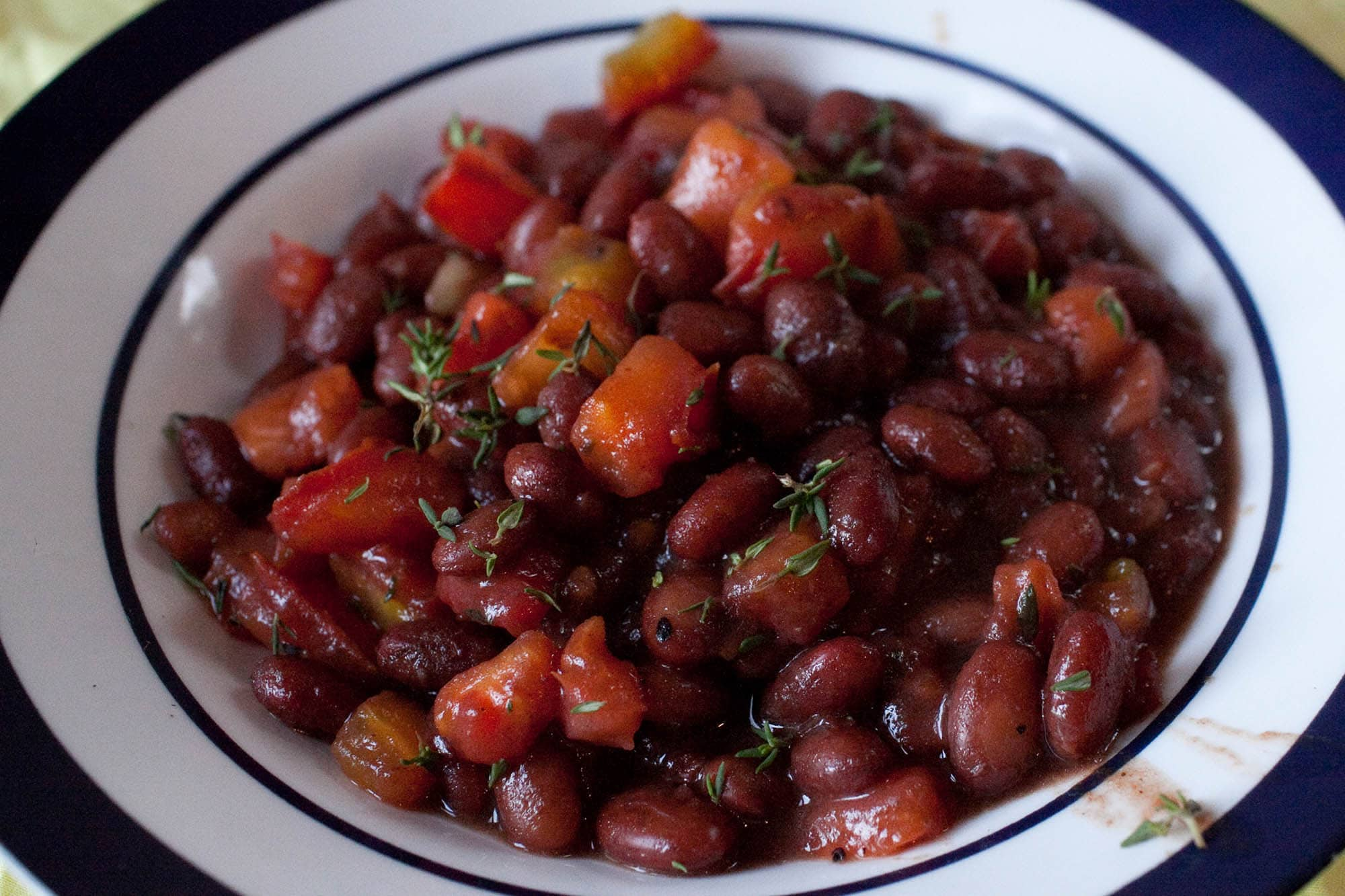 Bean and Tomato Stew.