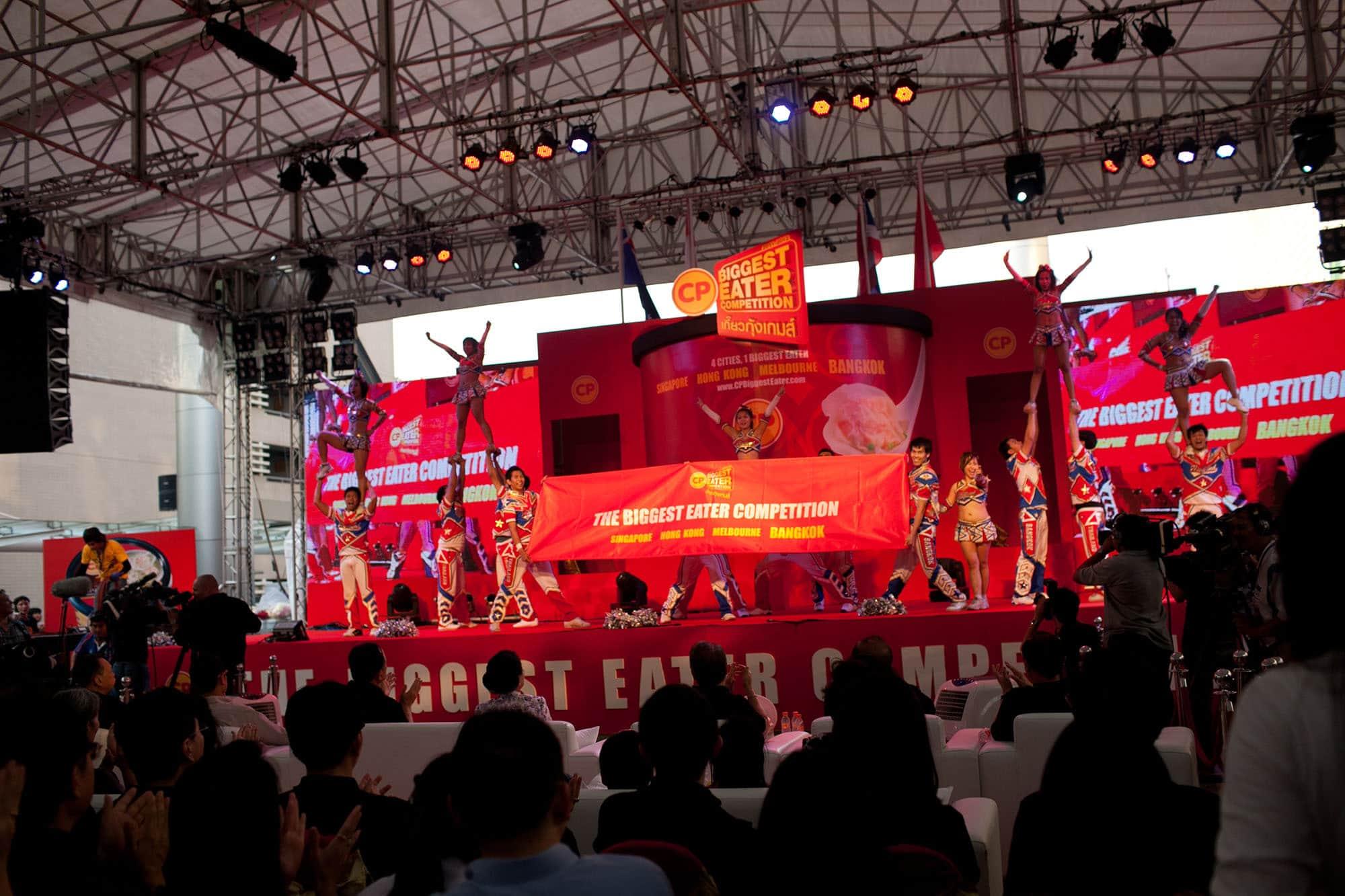 CP Biggest Eater finals in Bangkok, Thailand