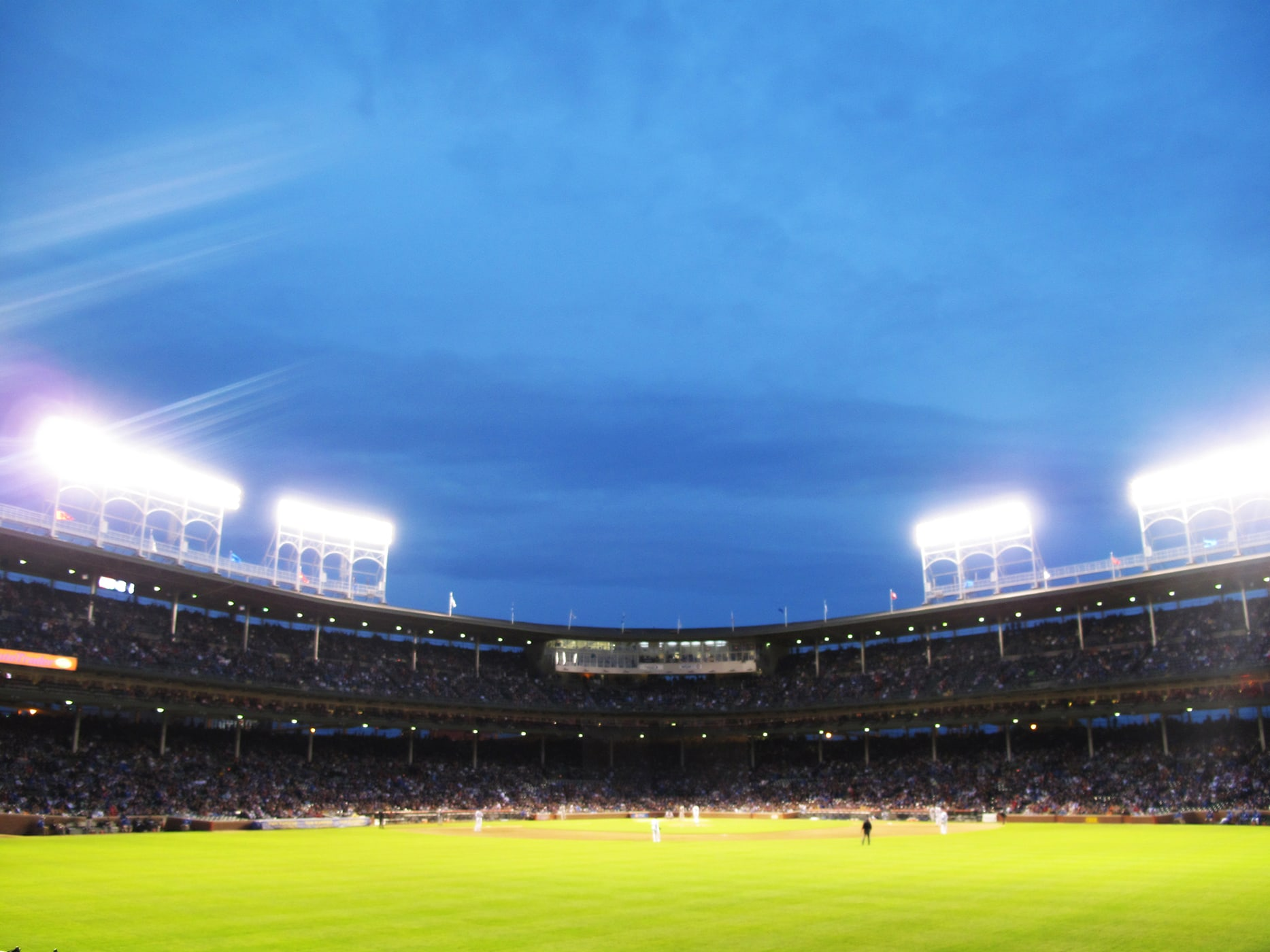 Cubs vs. Marlins at Wrigley Field