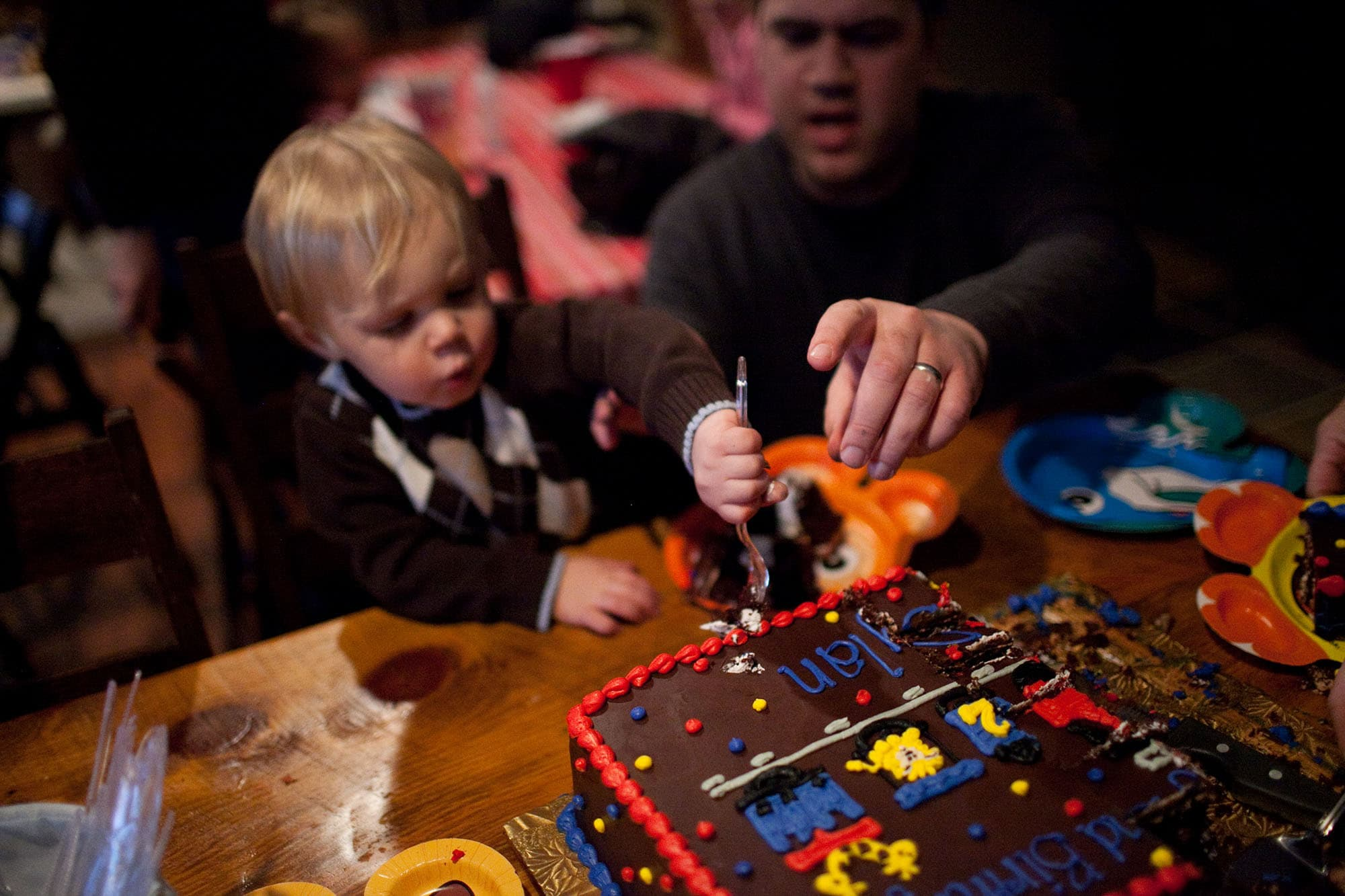 my nephew's second birthday party