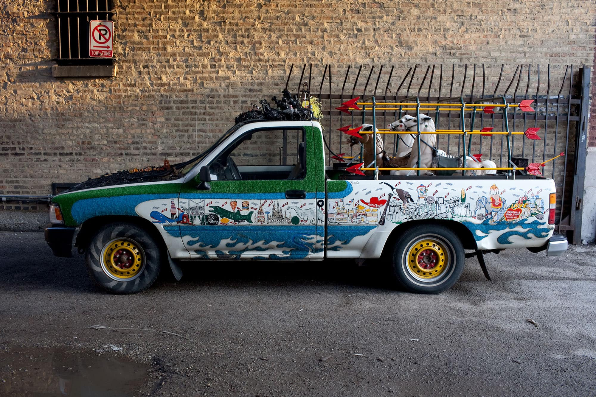 Erika Nelson's Art Car