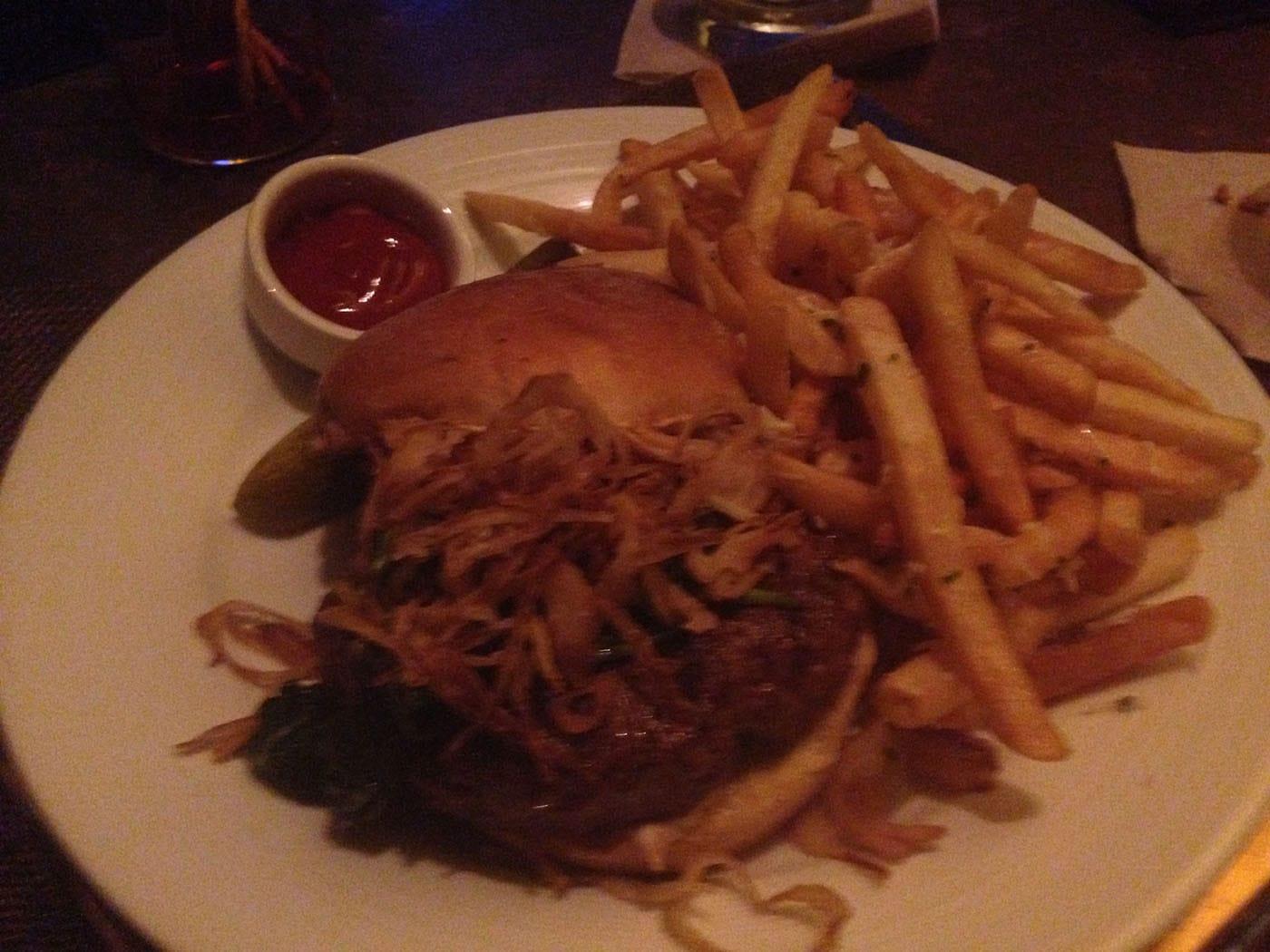 Hamburger from David Burke's Primehouse