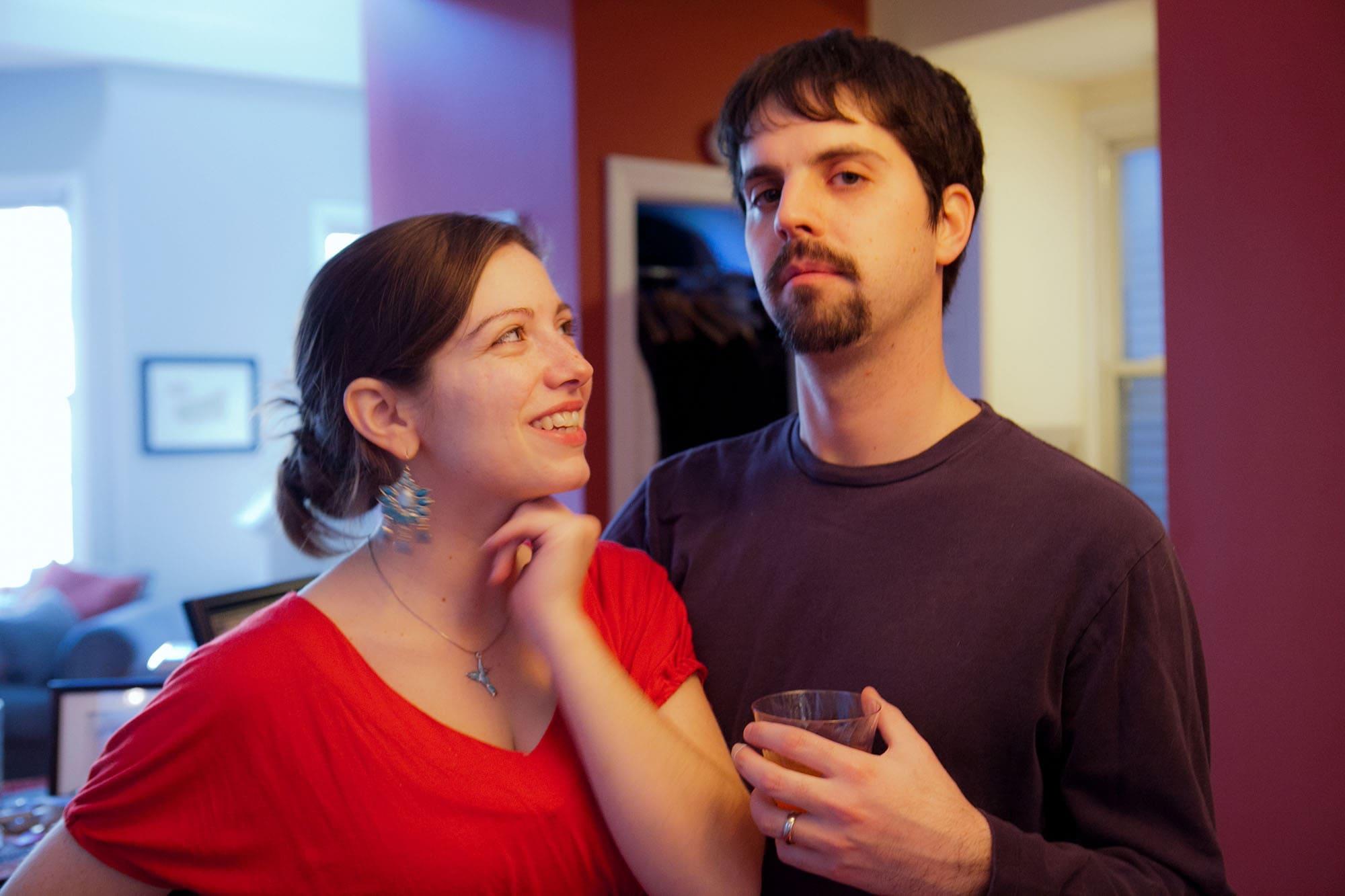Jen and Glen's Christmas Party.