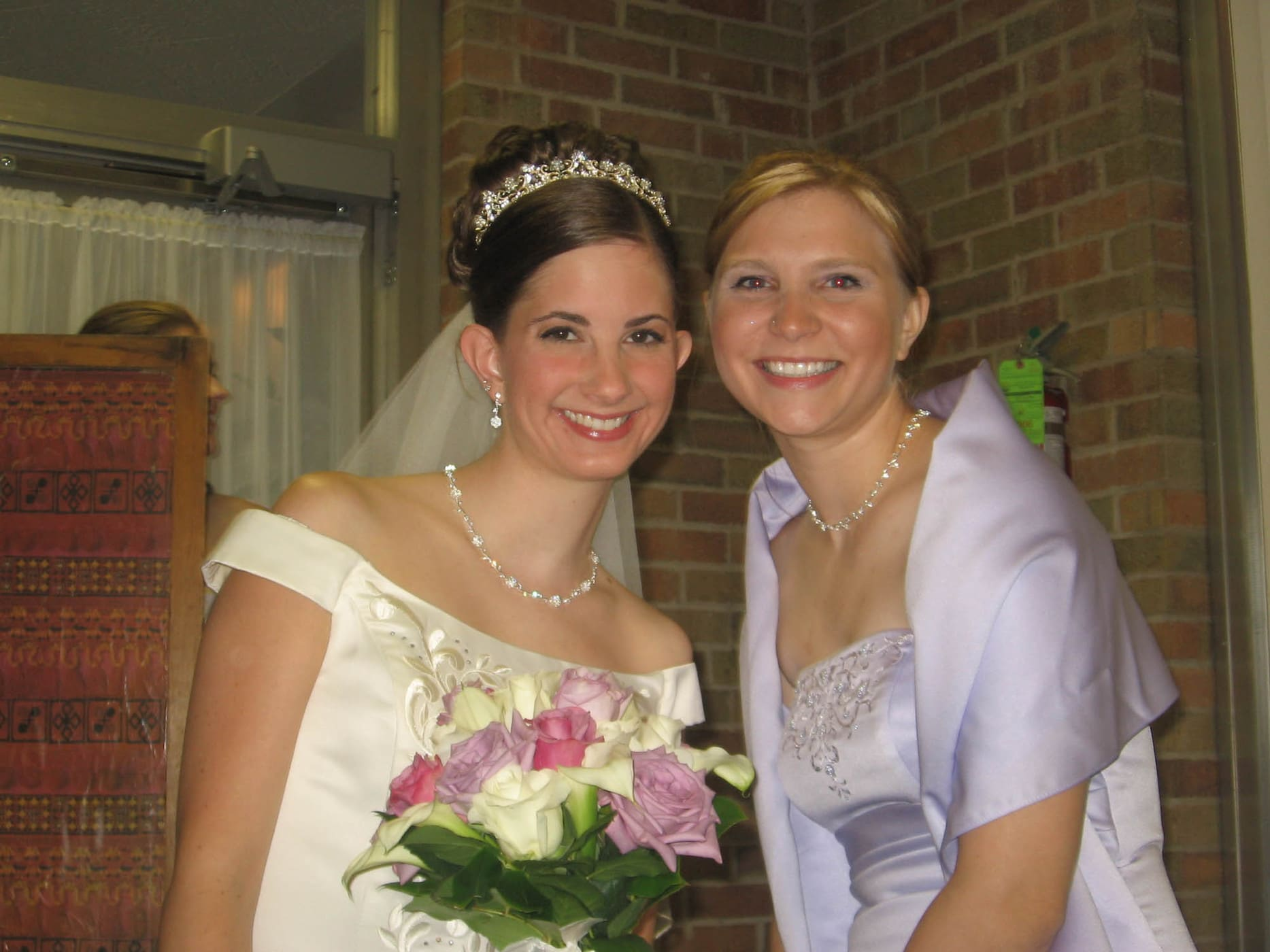 Me and Jenny at her wedding