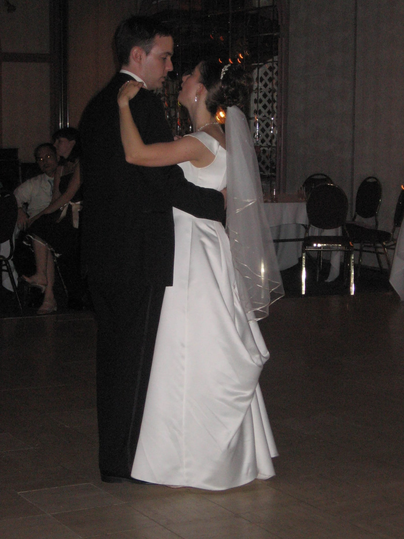 First dance at Jenny and Adam's Wedding