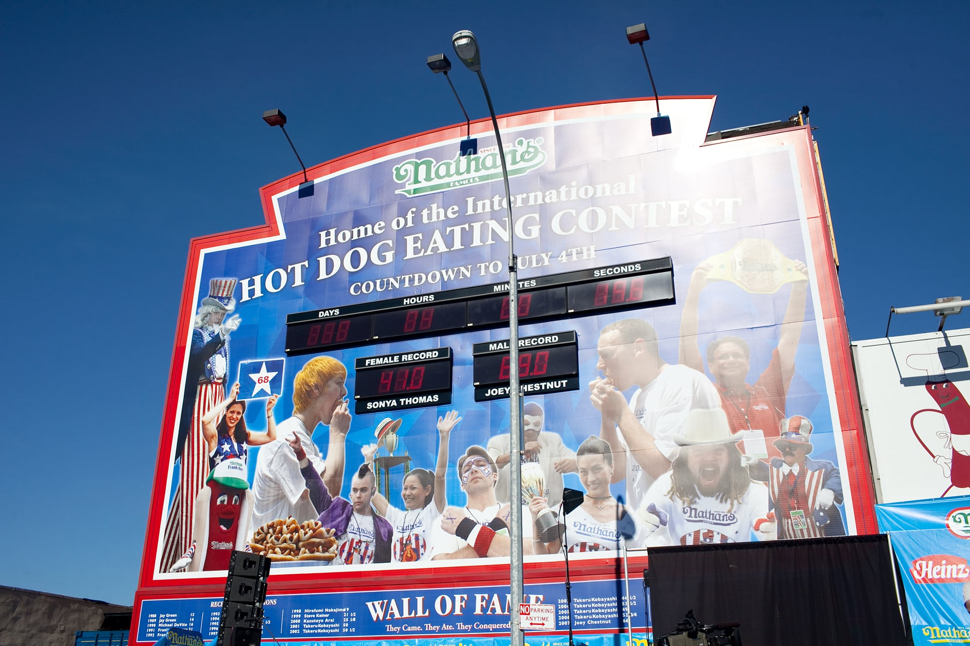 July 4 Nathans Famous Hot Dog Eating Contest
