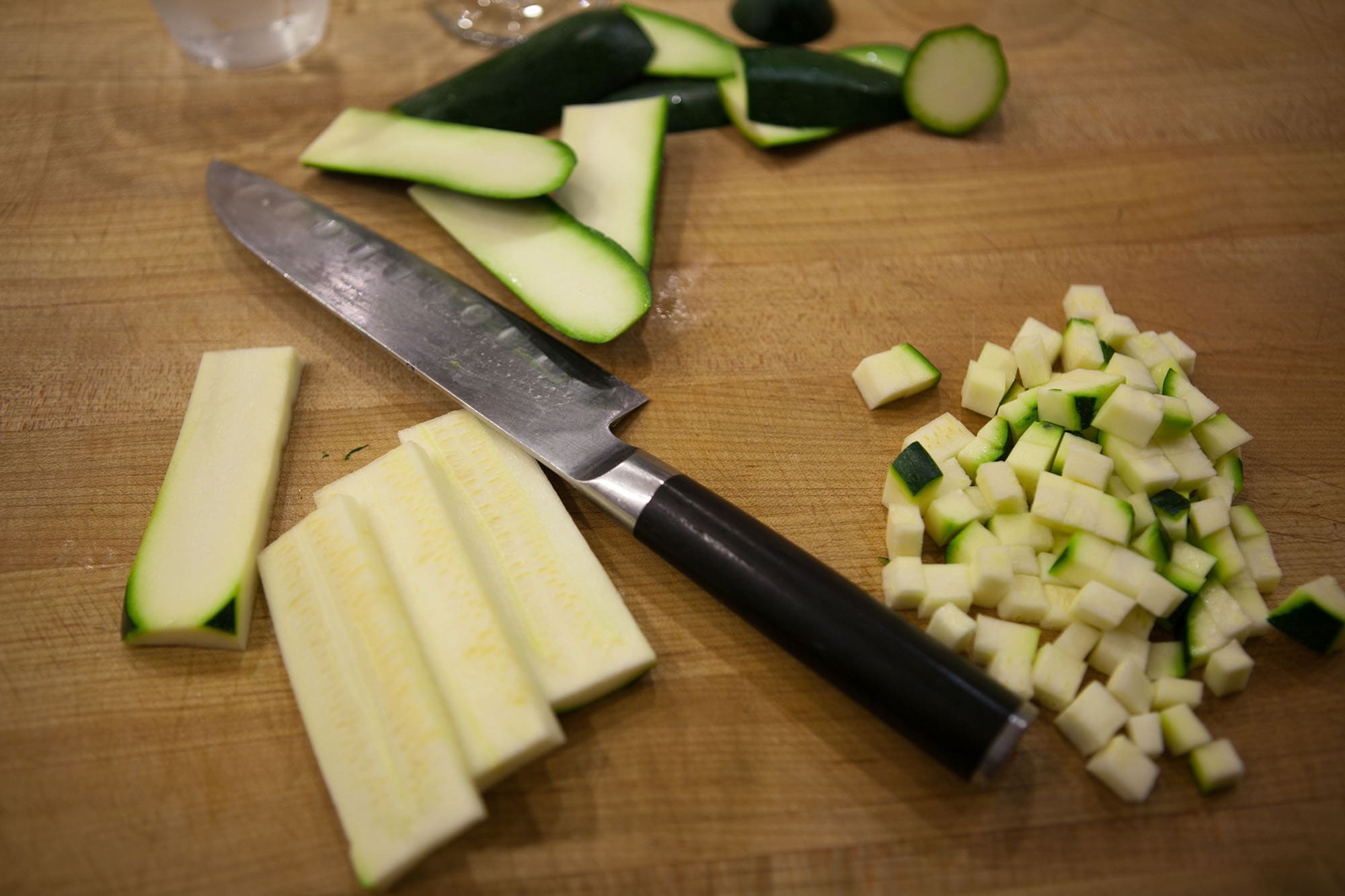 Learn how to use a kitchen knife like a chef - Taking a Knife Skills Class at The Chopping Block in Lincoln Square, Chicago