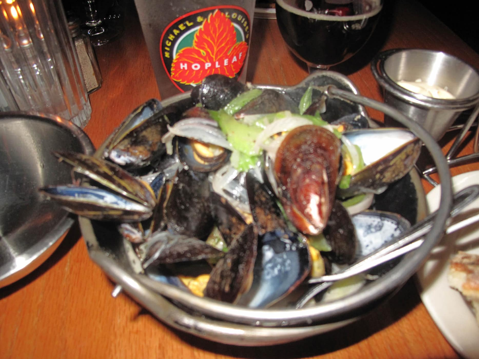 Mussels from Hopleaf.