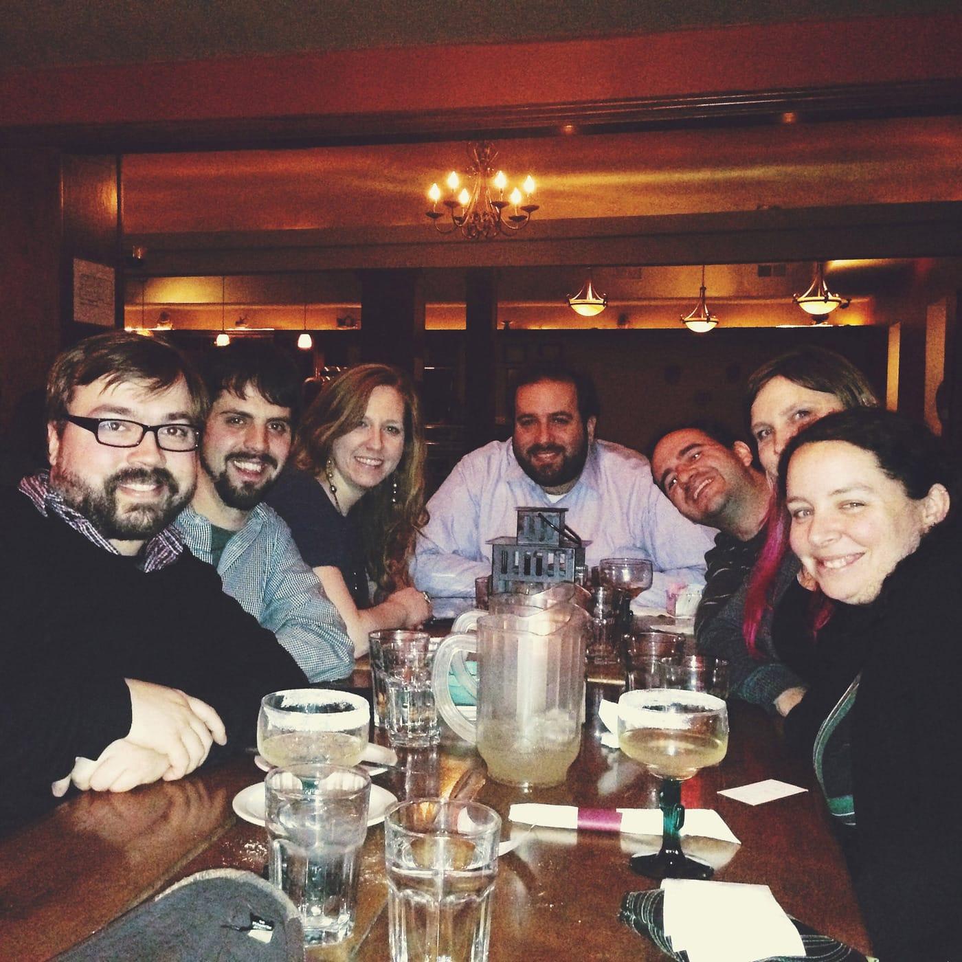 Birthday Dinner at Las Tablas, a Colombian restaurant in Chicago
