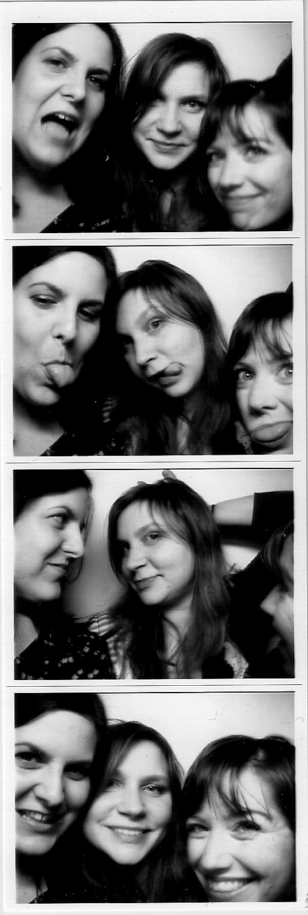 Birthday photobooth photos in Chicago, Illinois