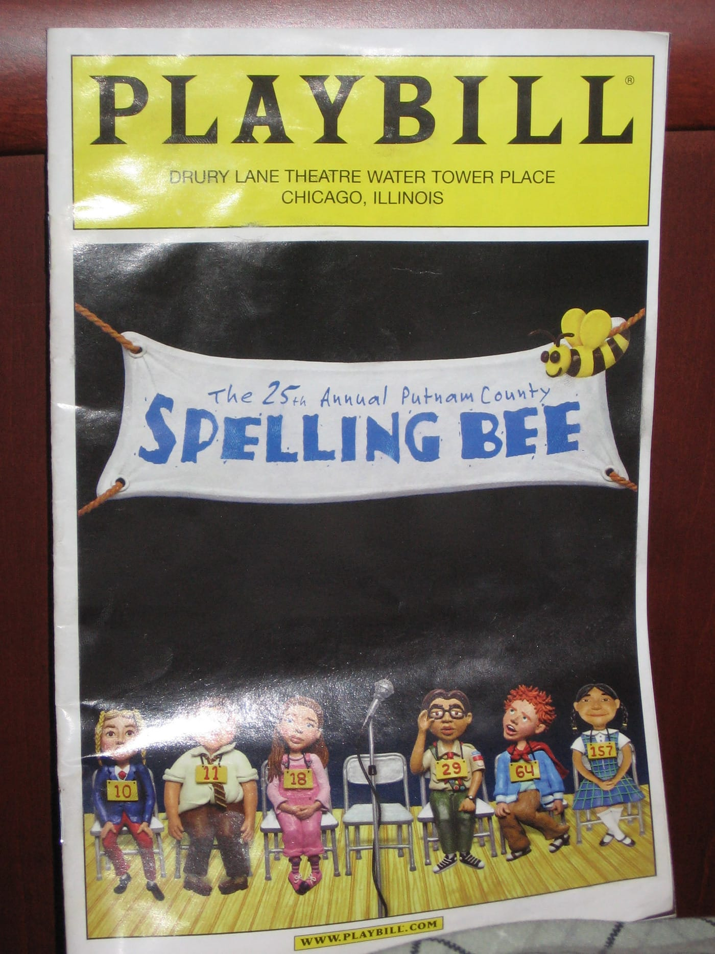 25th Annual Putnam County Spelling Bee program in Chicago