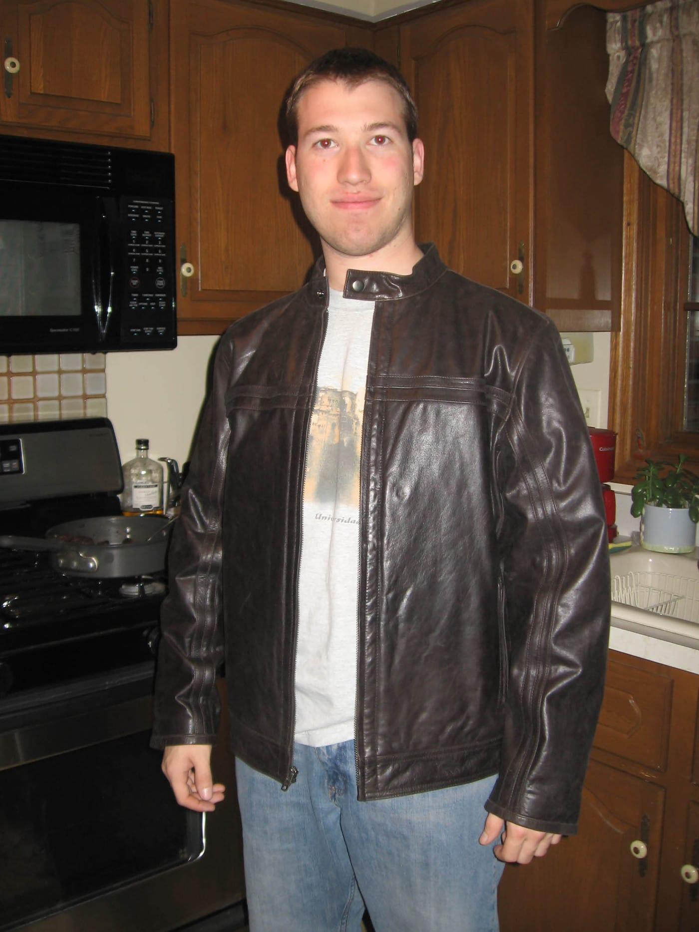 Matt bought a new jacket