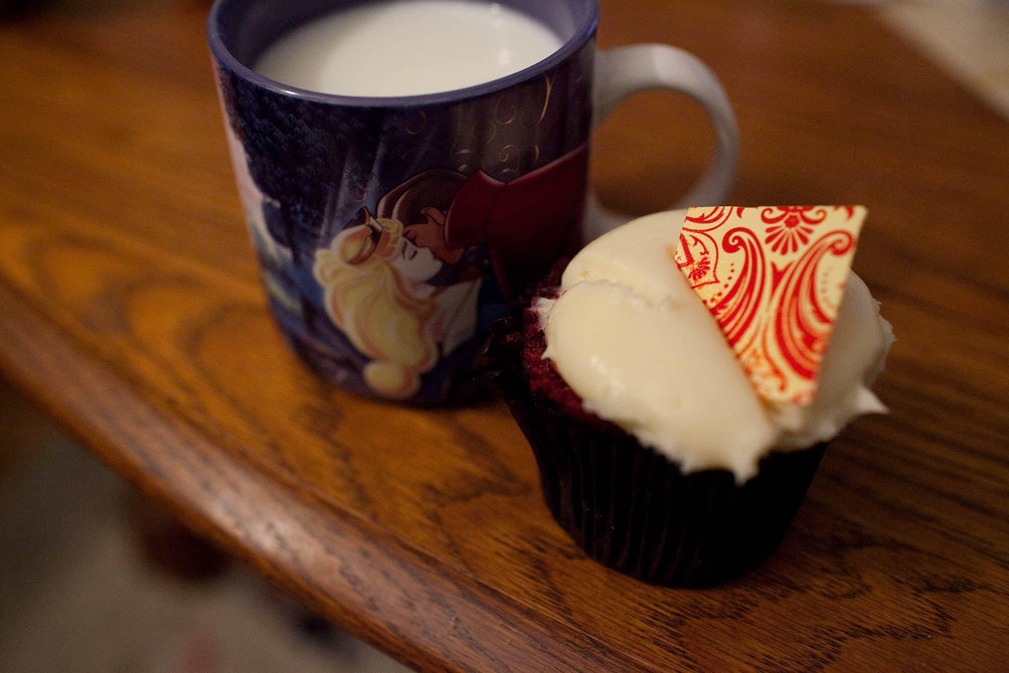More red velvet cupcake
