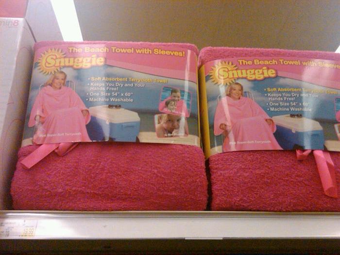 snuggie towel