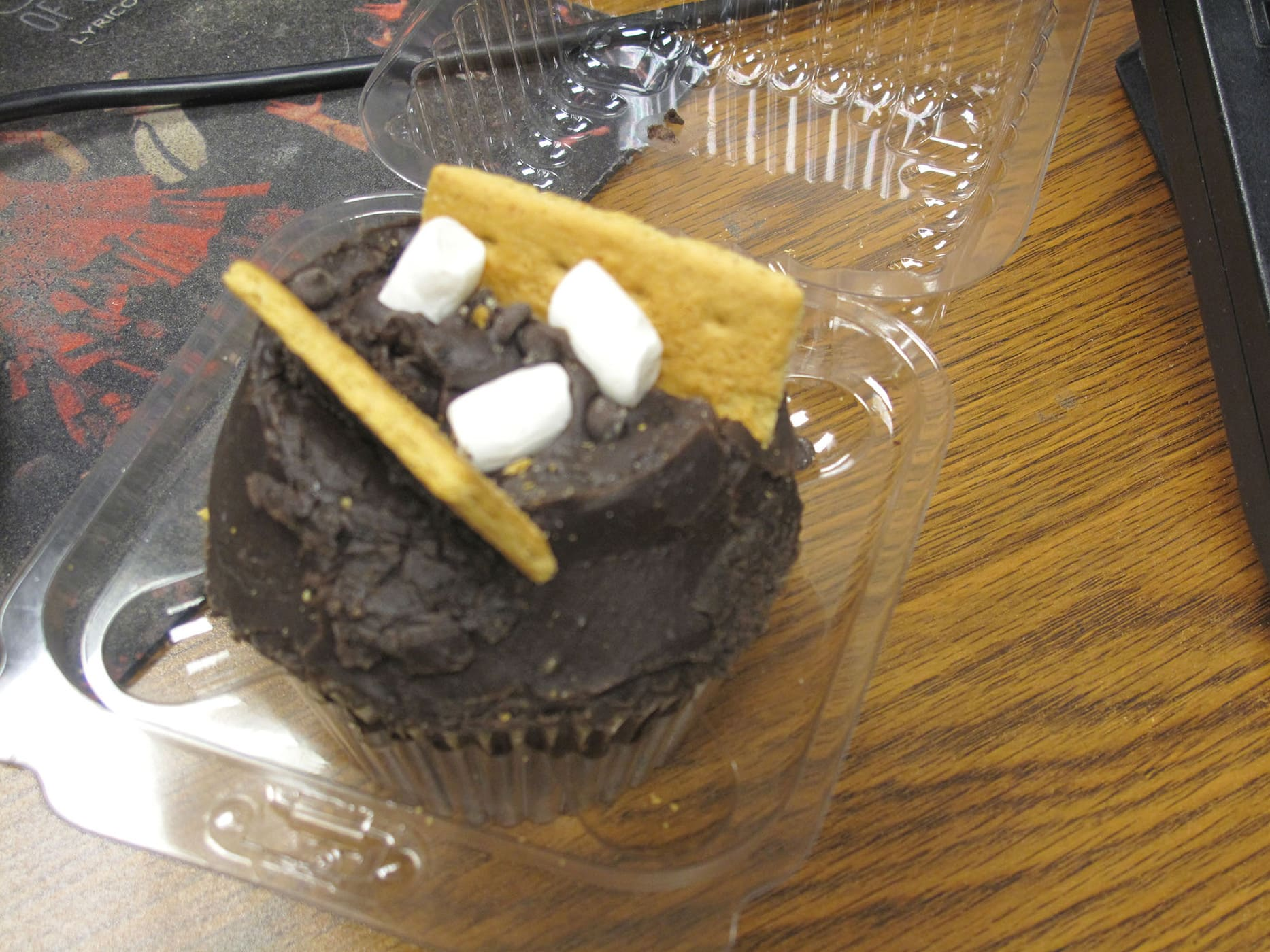 S'mores cupcake from Crumbs Bake Shop