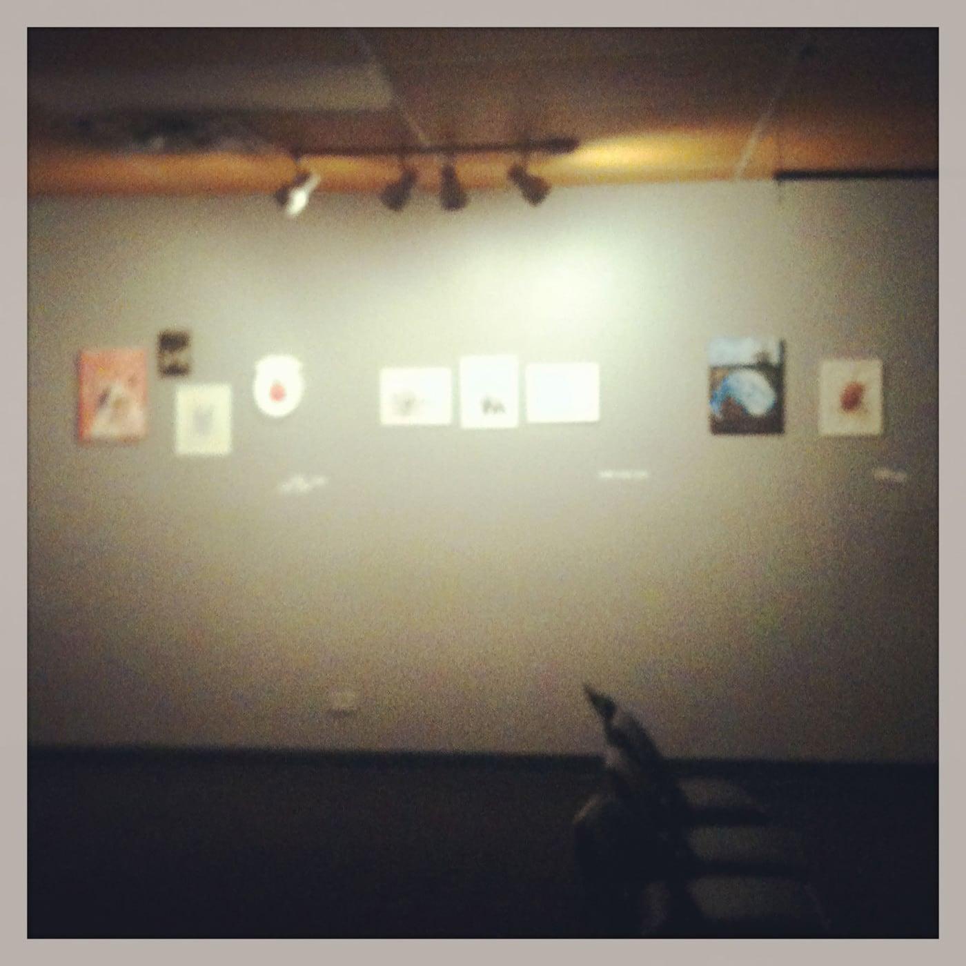 Animal art show.