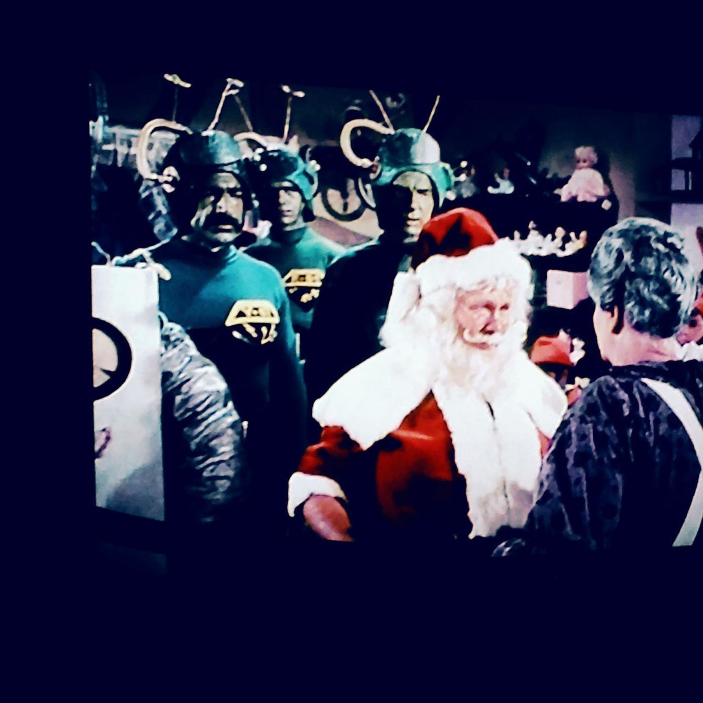 Santa versus the Martians