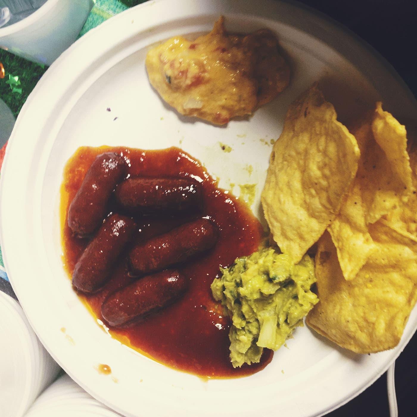 Super Bowl 2014 food
