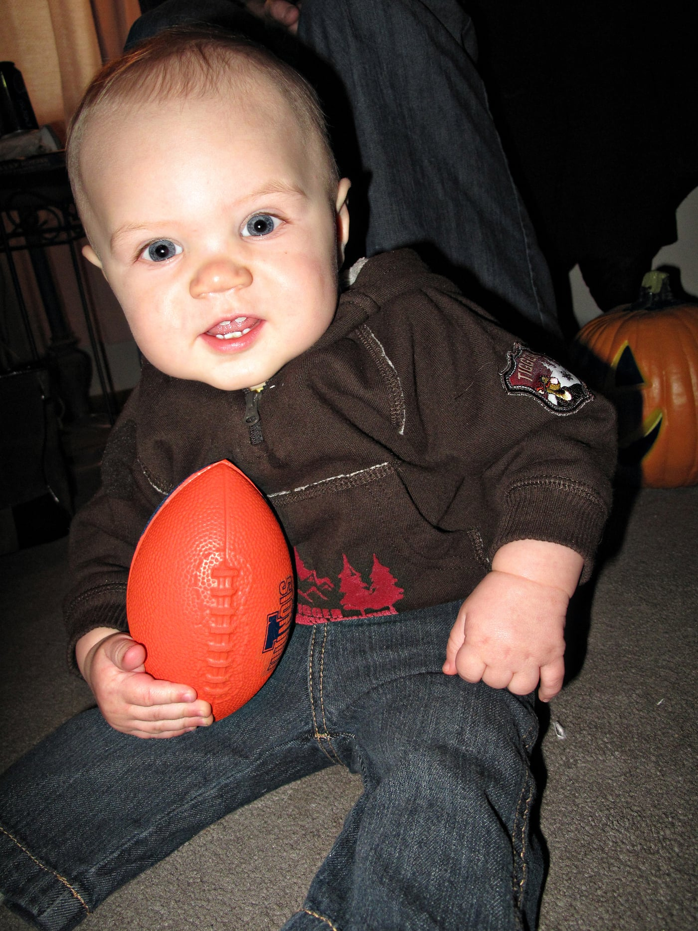 Dylan playing football