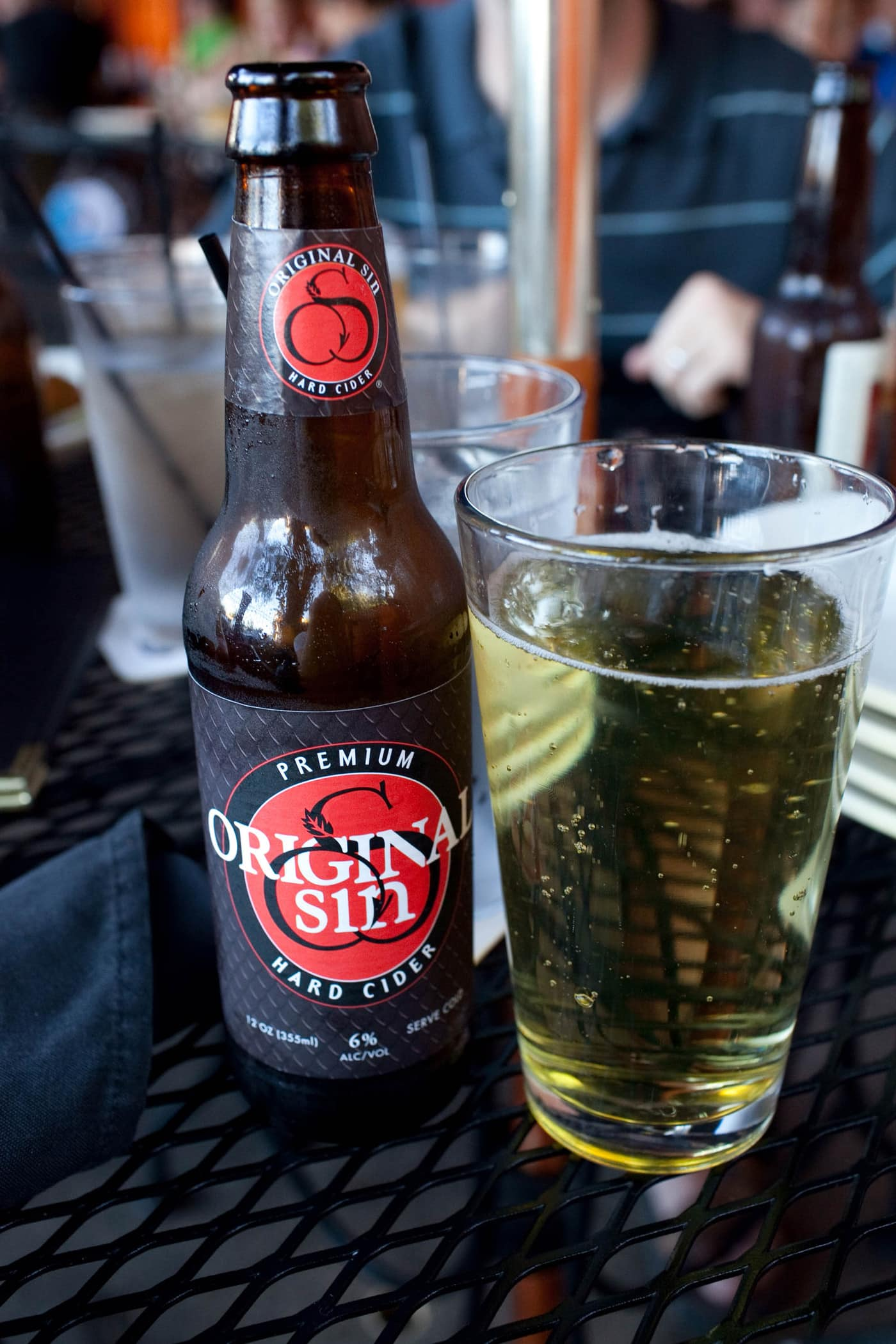 Kuma's Corner in Chicago, Illinois - Original Sin Hard Cider
