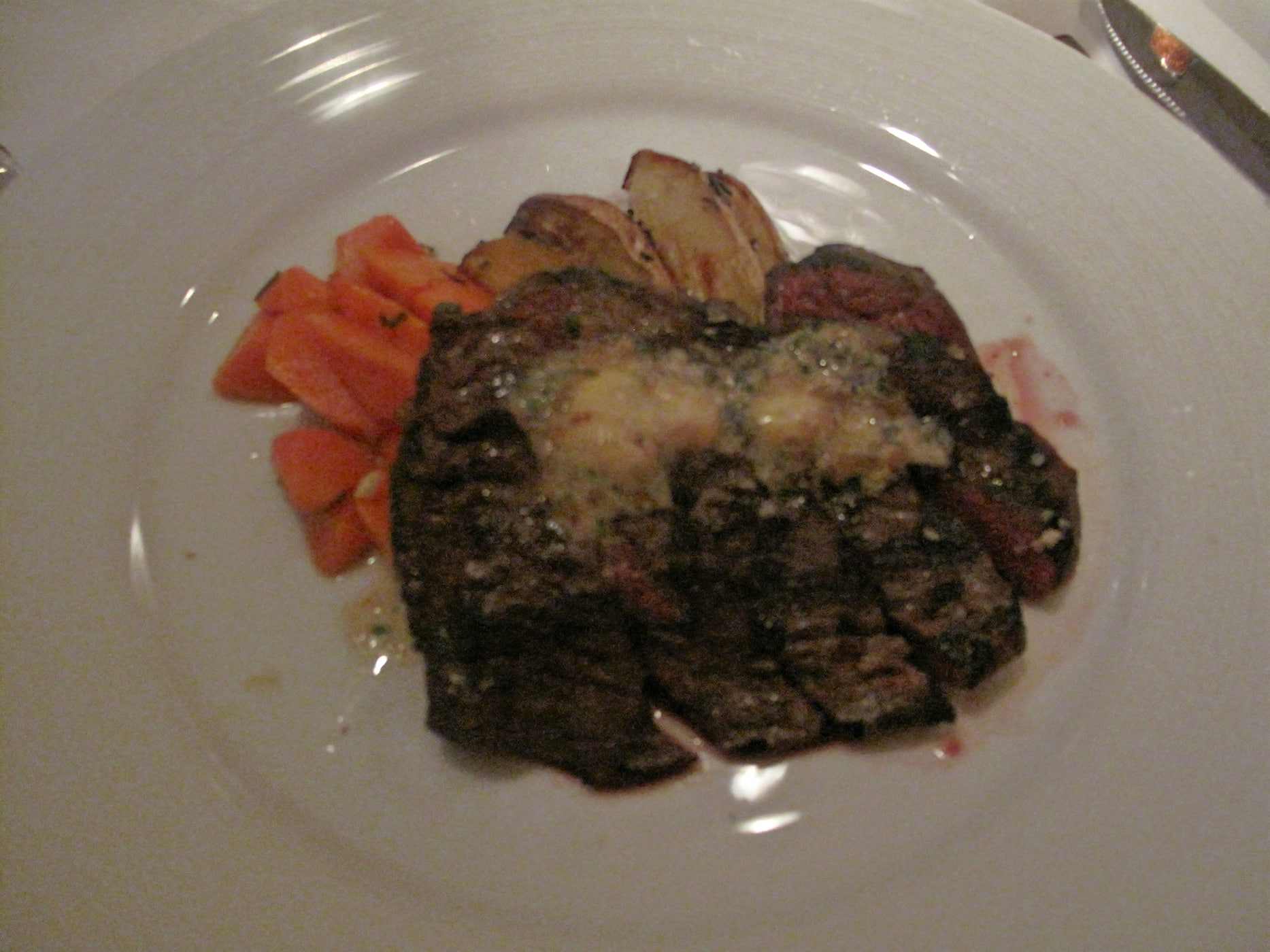 Restaurant week at Trattoria No 10 - waygu steak