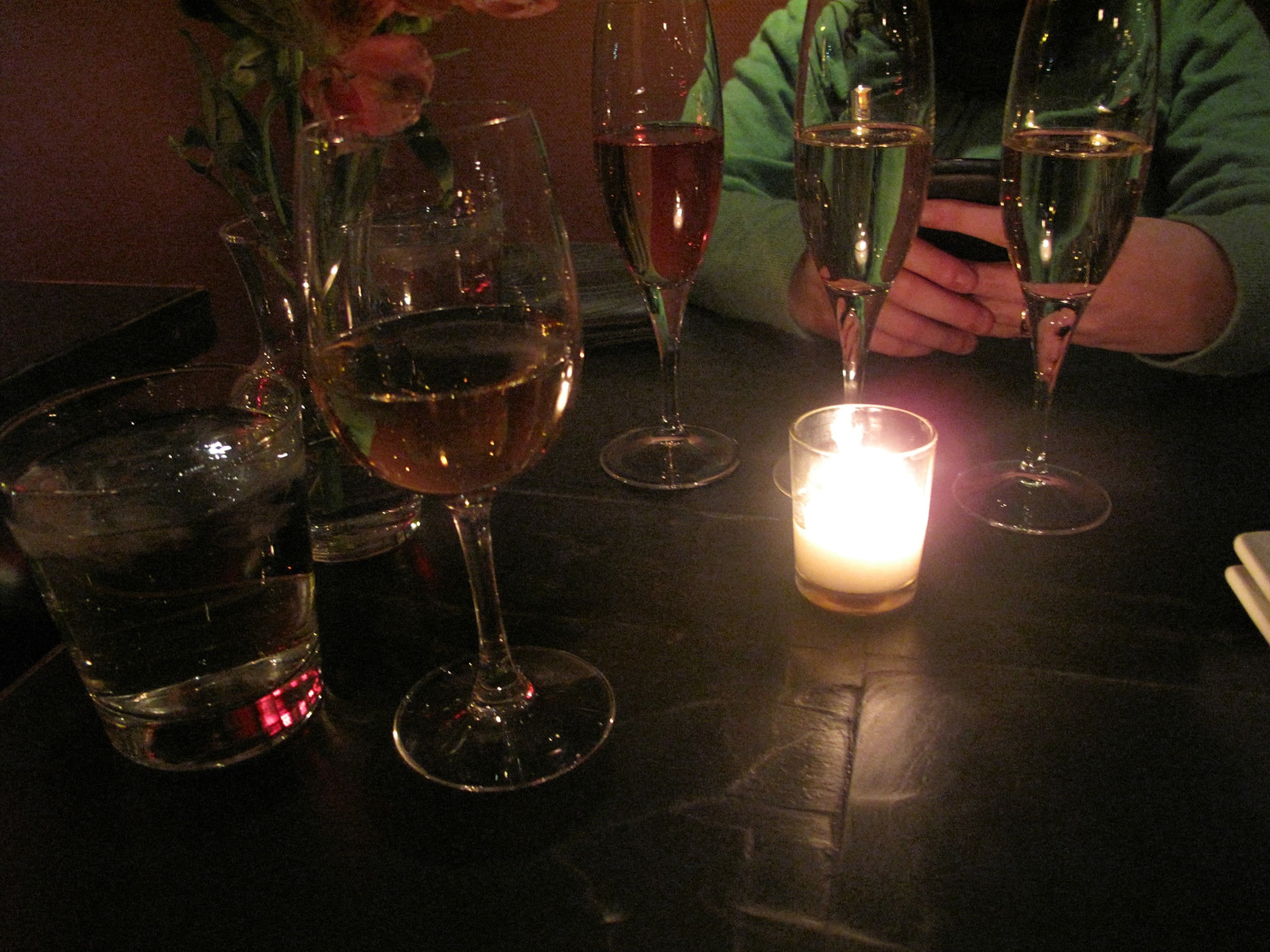 Wine at Volo Wine Bar in Chicago