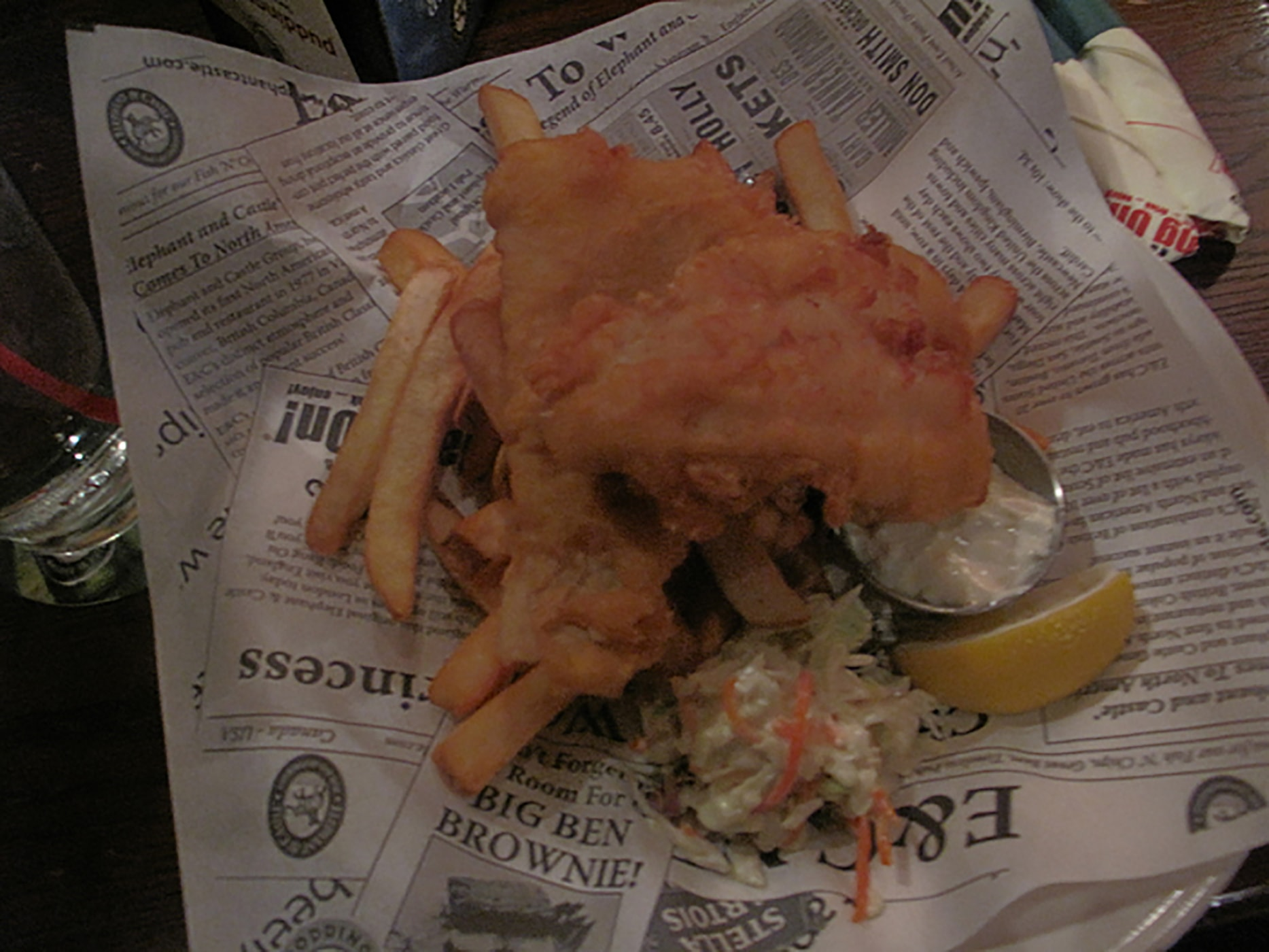 Elephant and Castle Fish and Chips