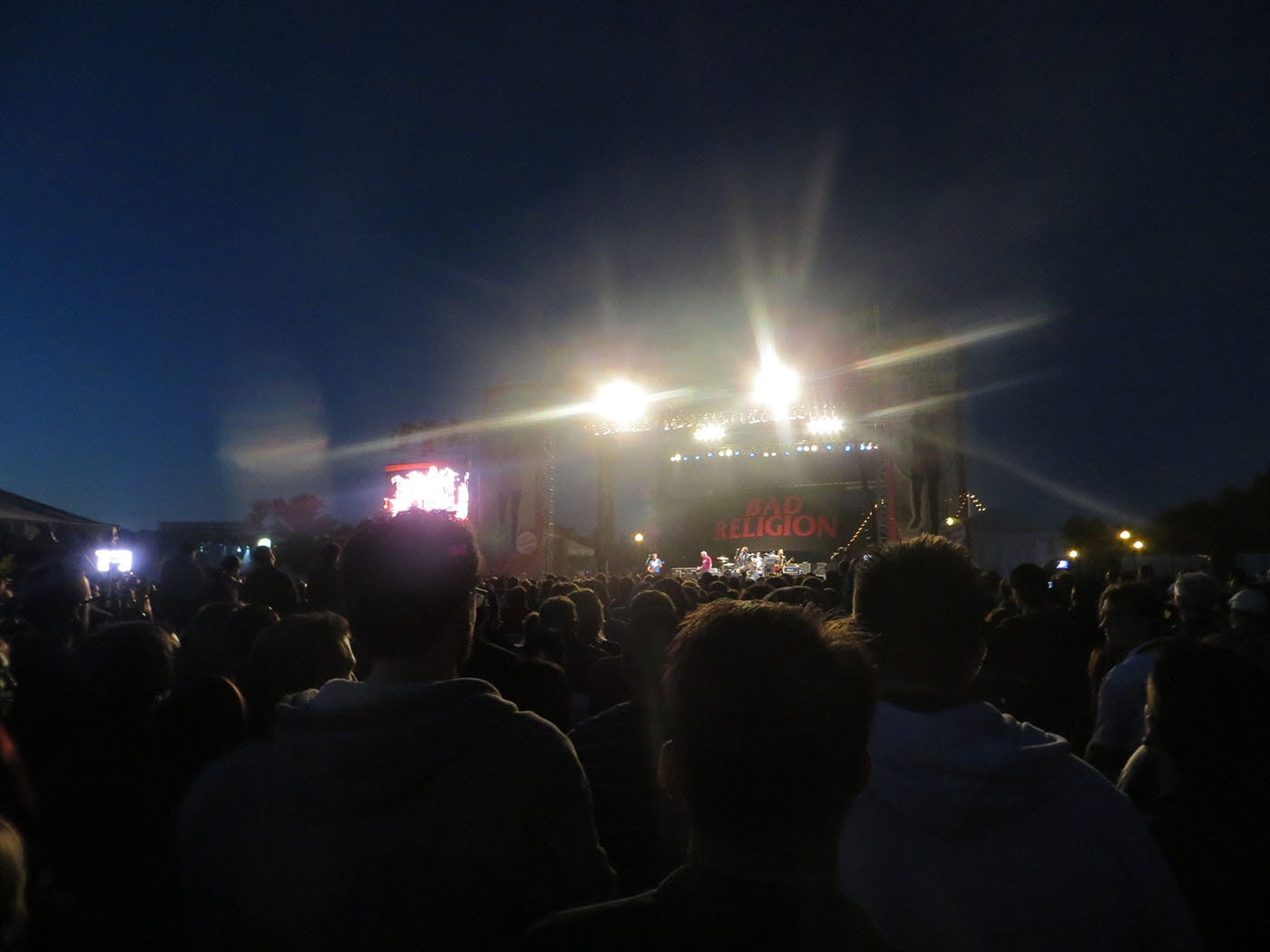 Bad Religion concert at Riot Fest Chicago 2013