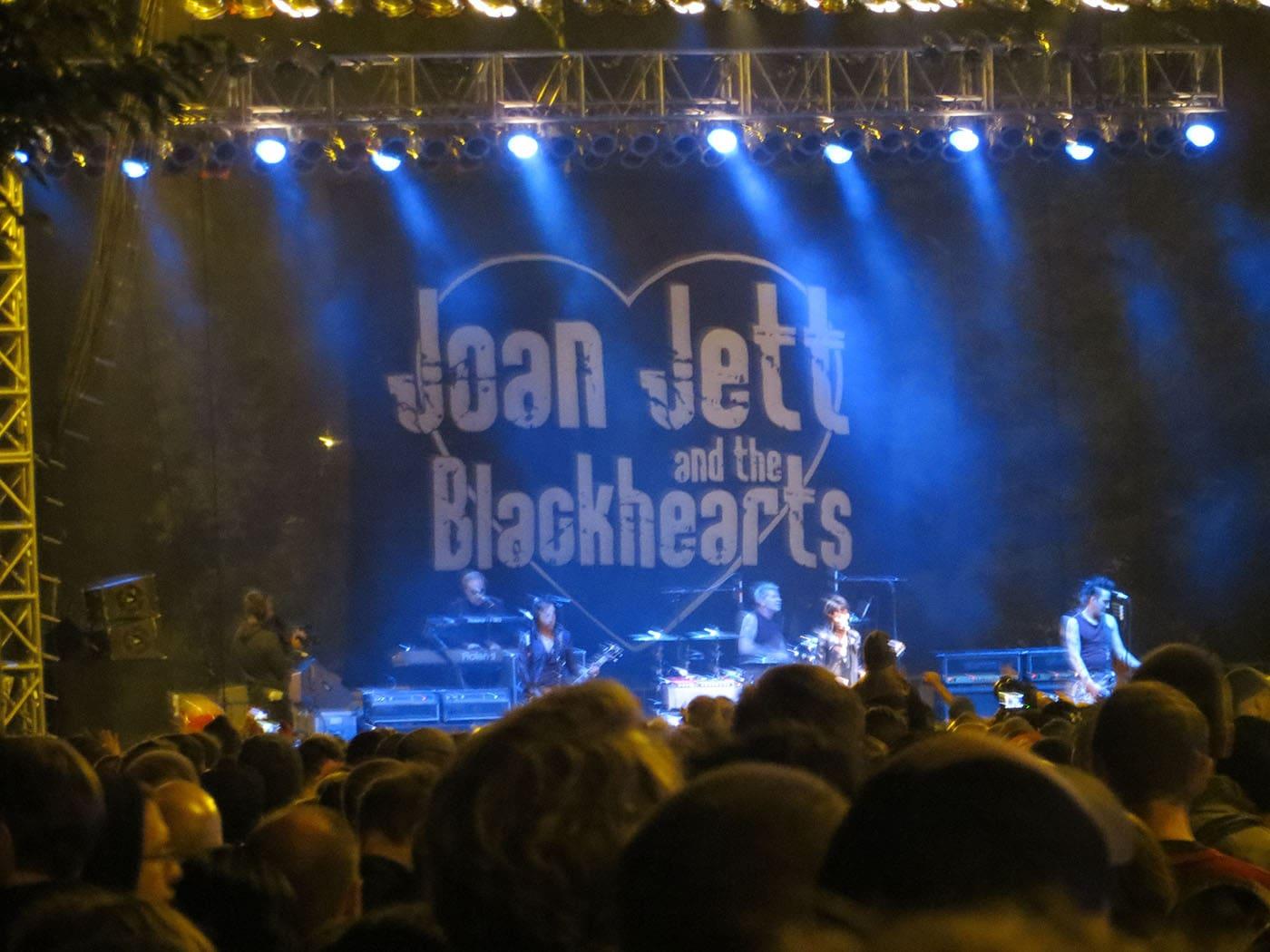 Joan Jett at Riot Fest Chicago 2013
