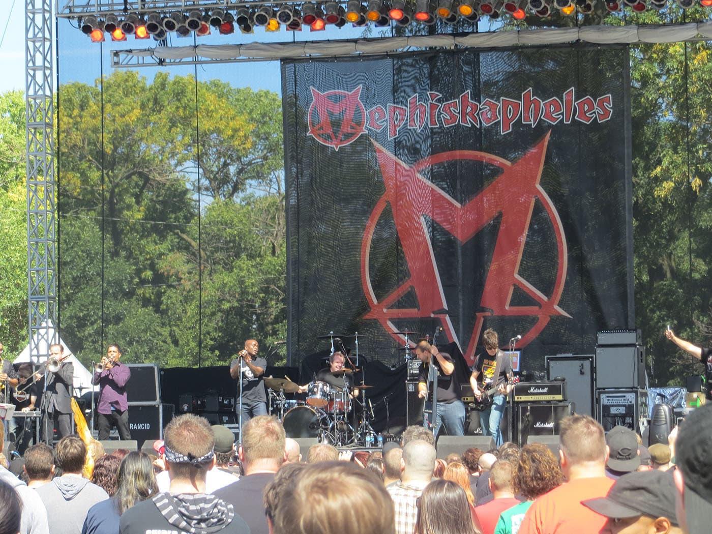 Mephiskapheles at Riot Fest Chicago 2013