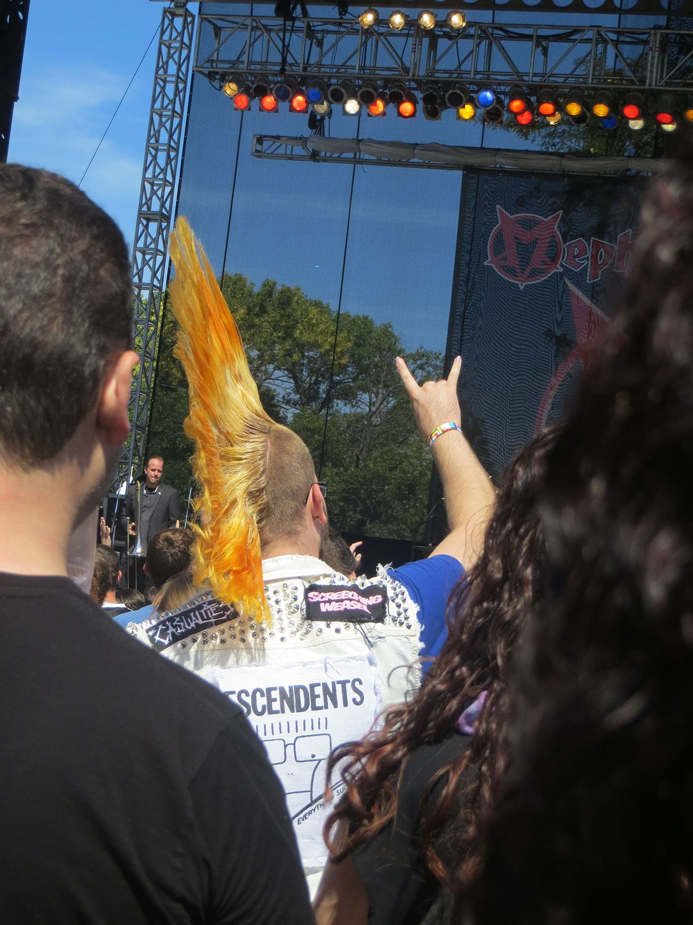 Mohawk at Riot Fest Chicago 2013