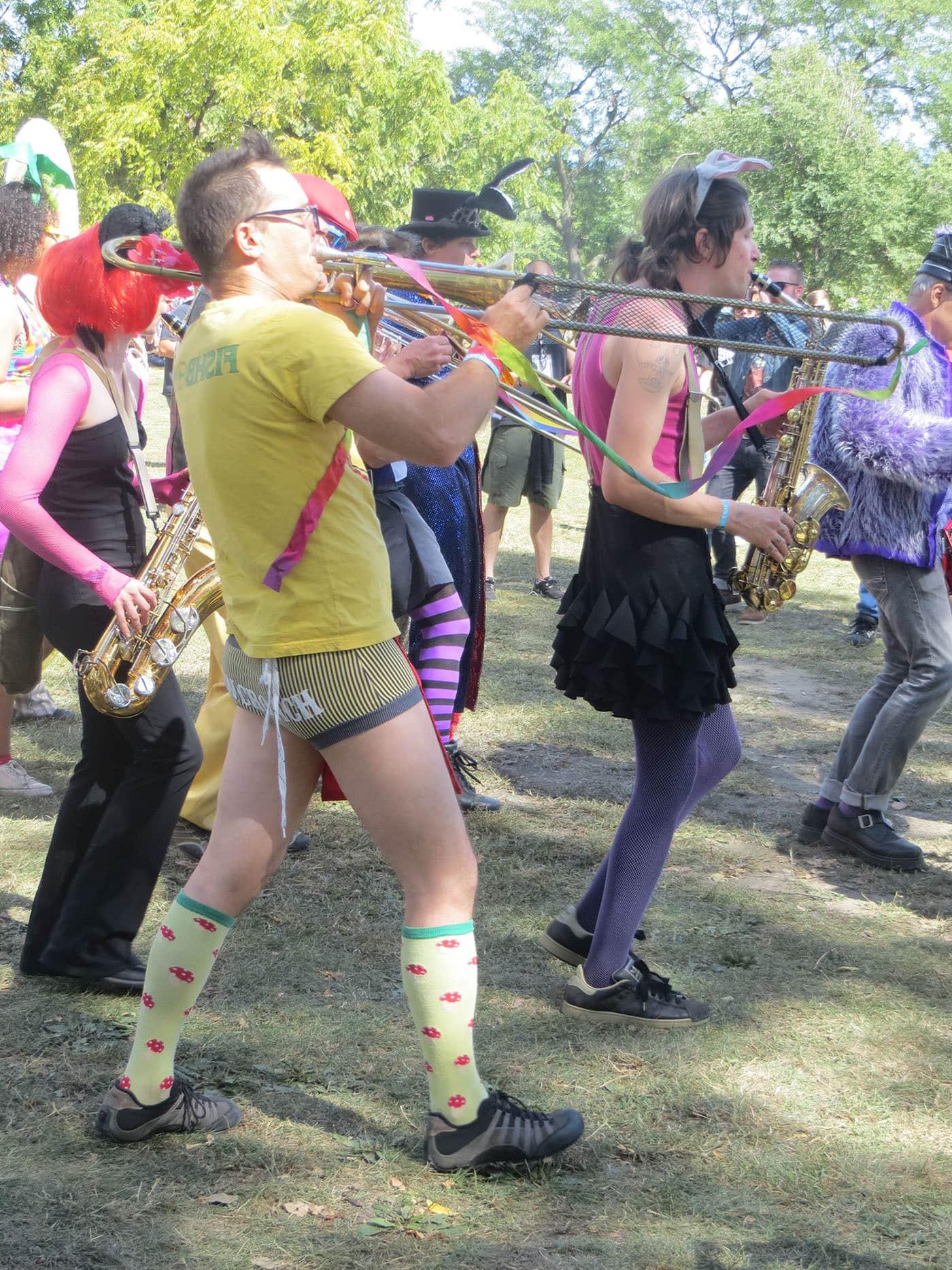 Environmental Encroachment at Riot Fest Chicago 2013