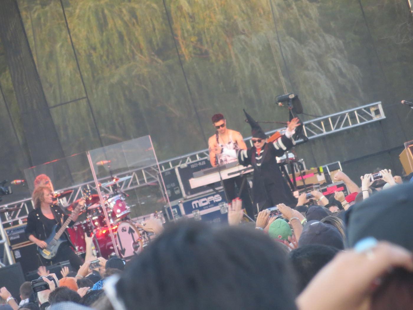 Blondie at Riot Fest Chicago 2013