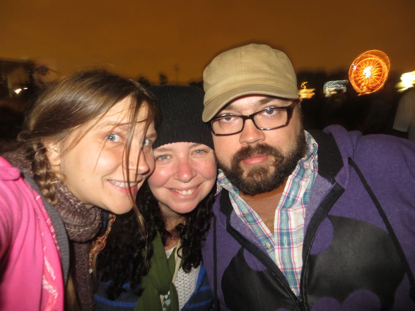 Heather, Jeremy, and me at Riot Fest Chicago 2013