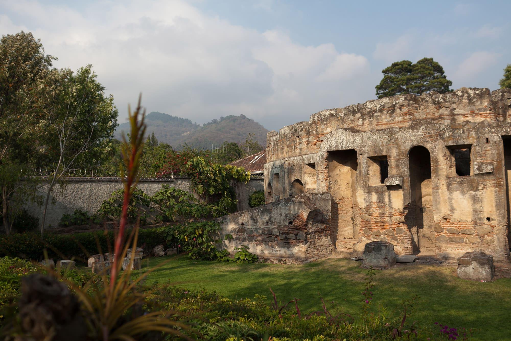 Las Capuchinas in Antigua, Guatemala.