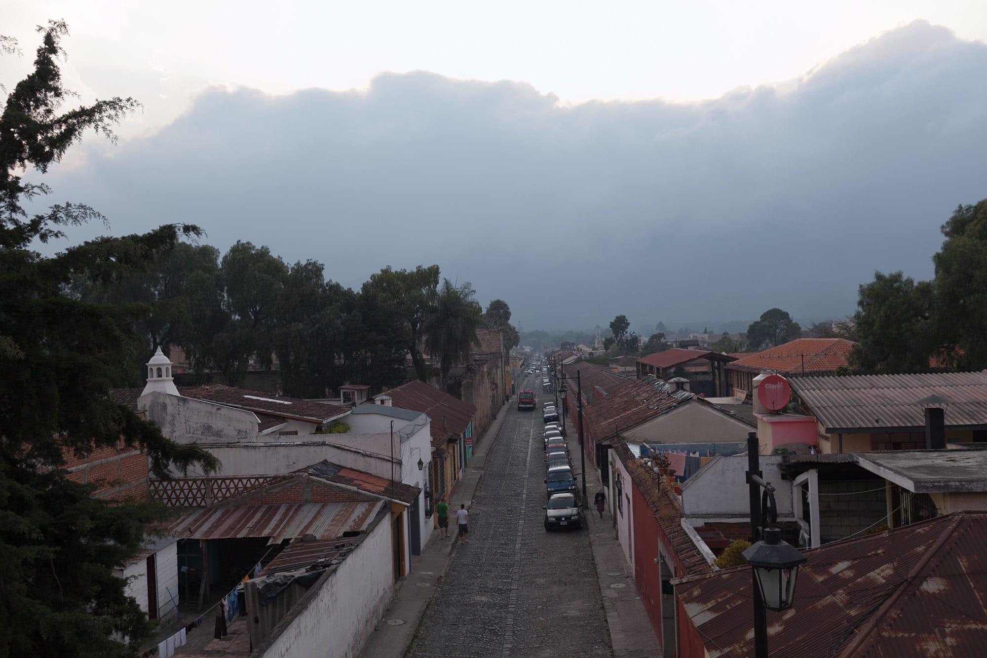 Cafe Sky in Antigua, Guatemala.