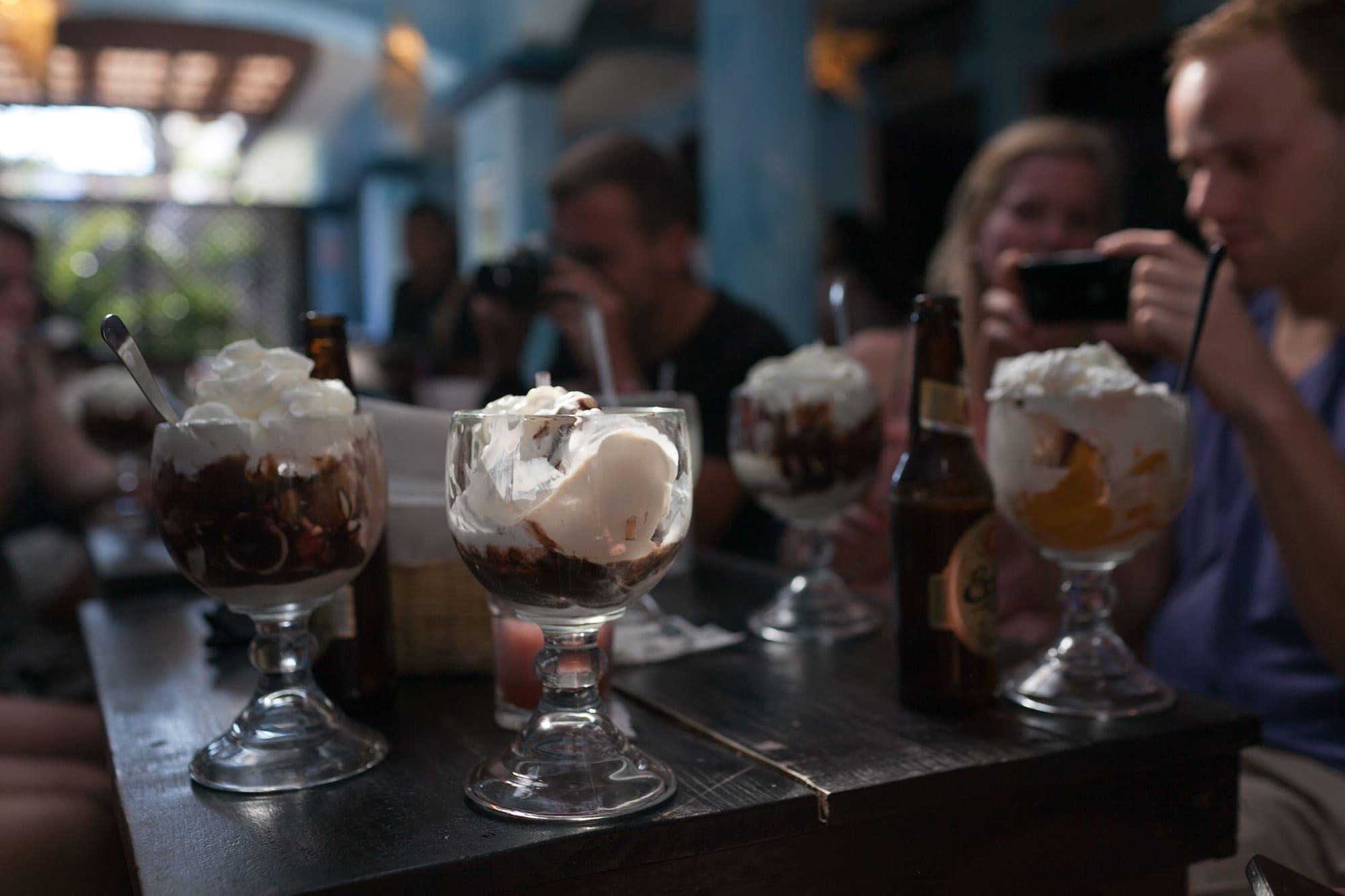 Ice cream in Antigua, Guatemala