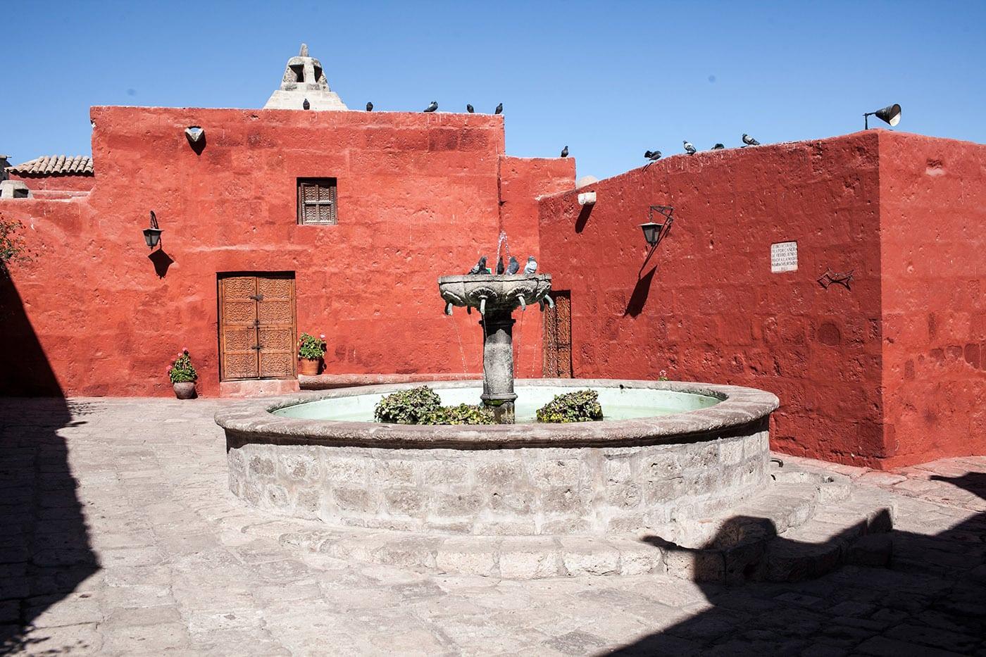 Santa Catalina Monastery in Arequipa, Peru.