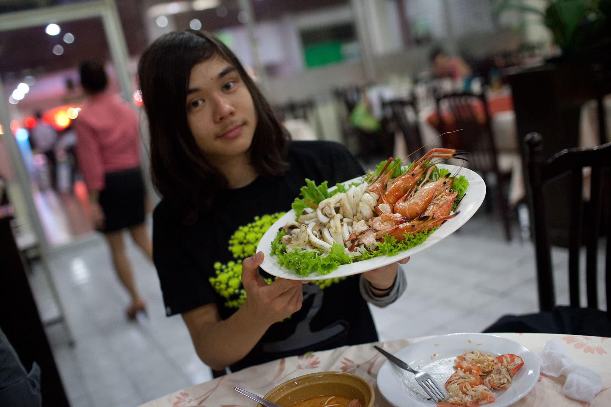 Dinner in Bangkok