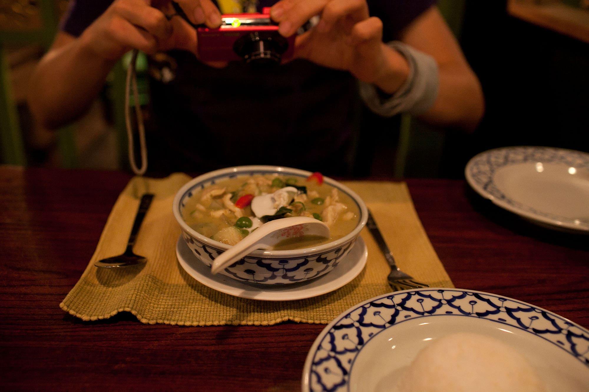 Dinner in Bangkok, Thailand