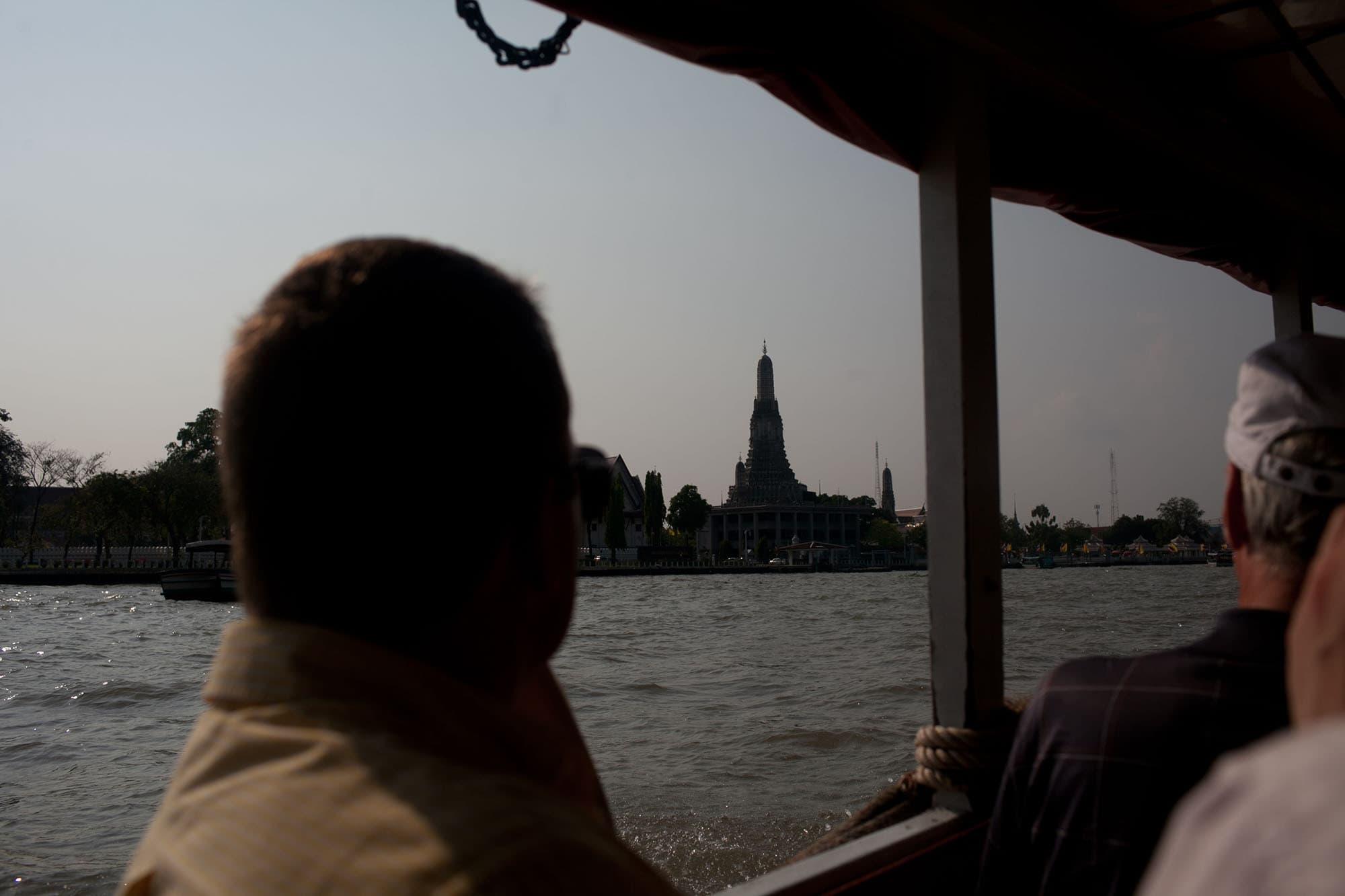 Boat trip in Bangkok, Thailand