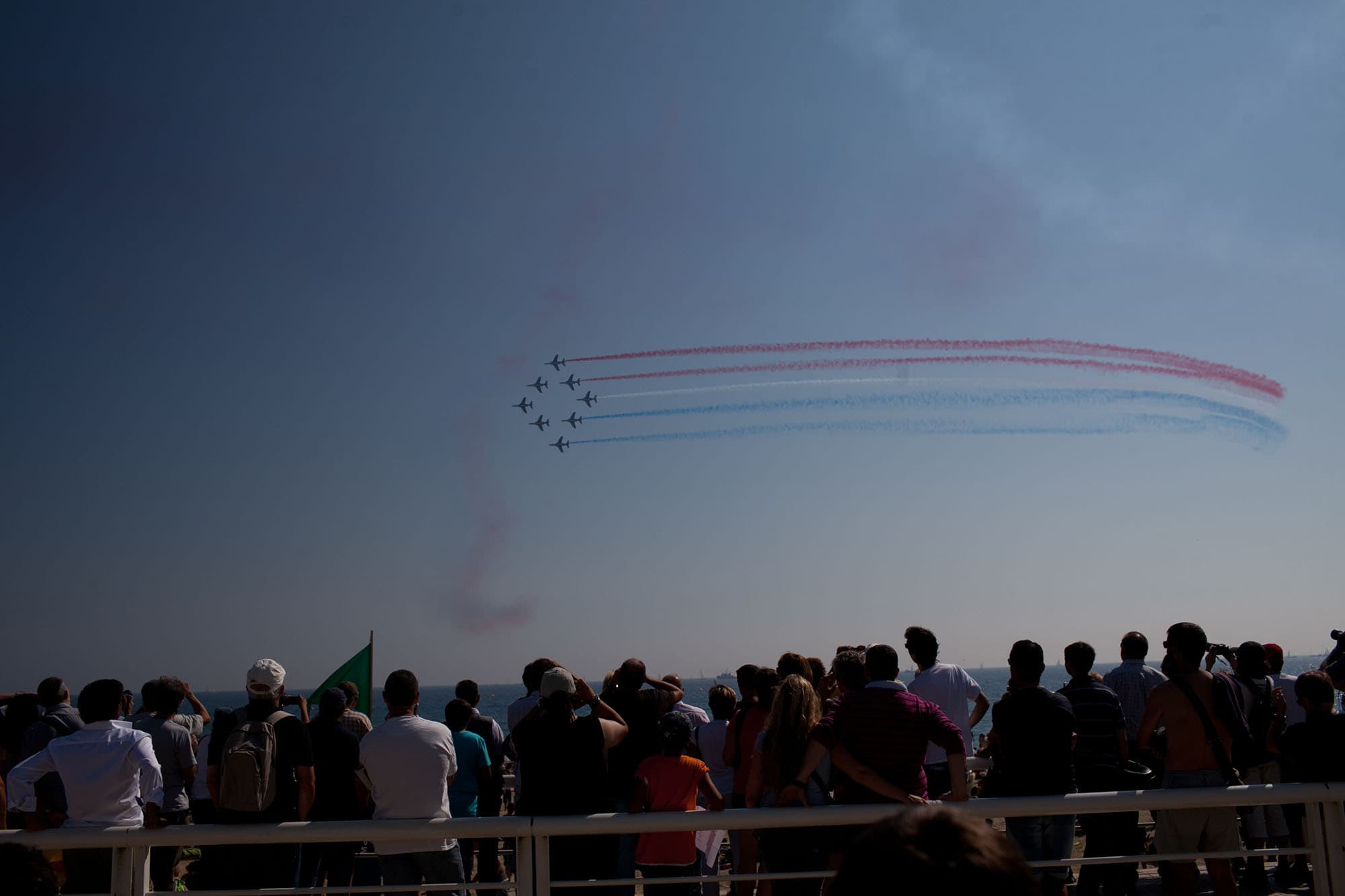 Air show in Barcelona