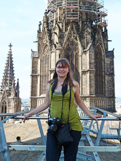 Val at Barcelona Cathedral